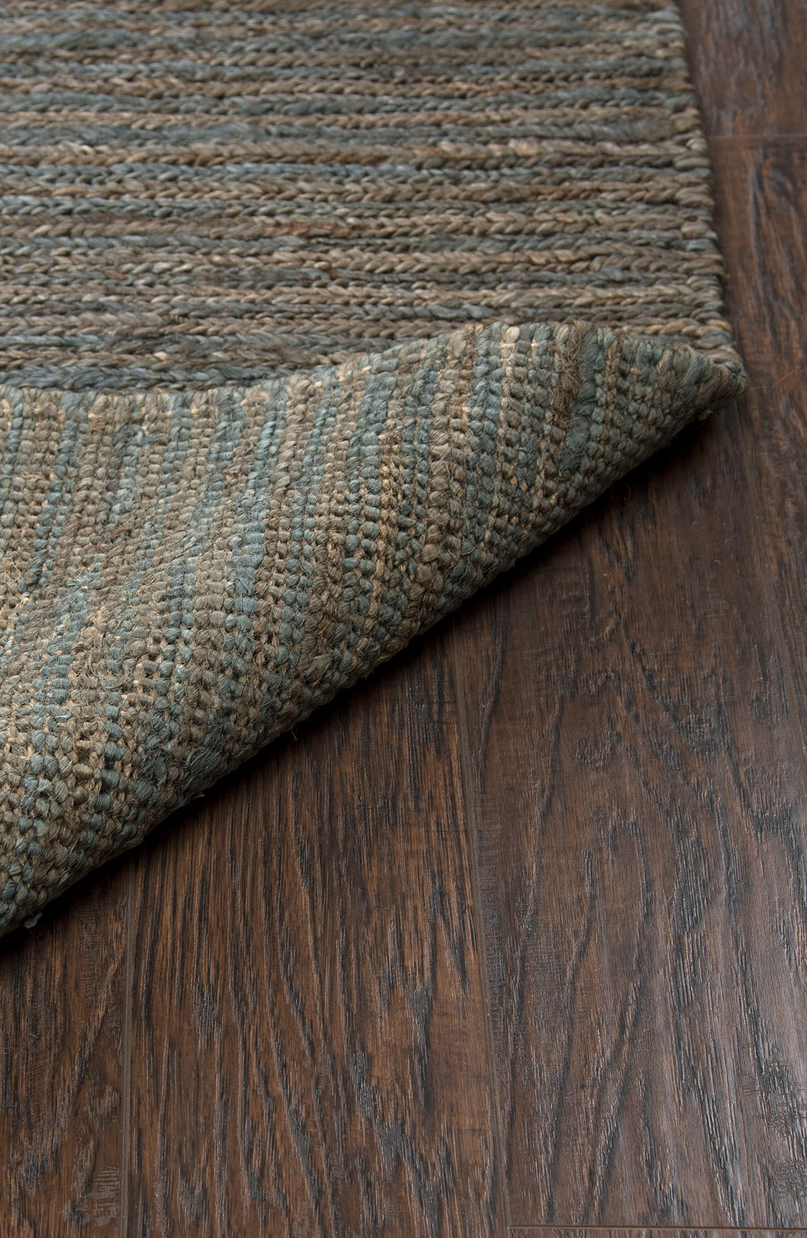 'Whittier Collection' Handwoven Jute Area Rug,                             Alternate thumbnail 5, color,                             400