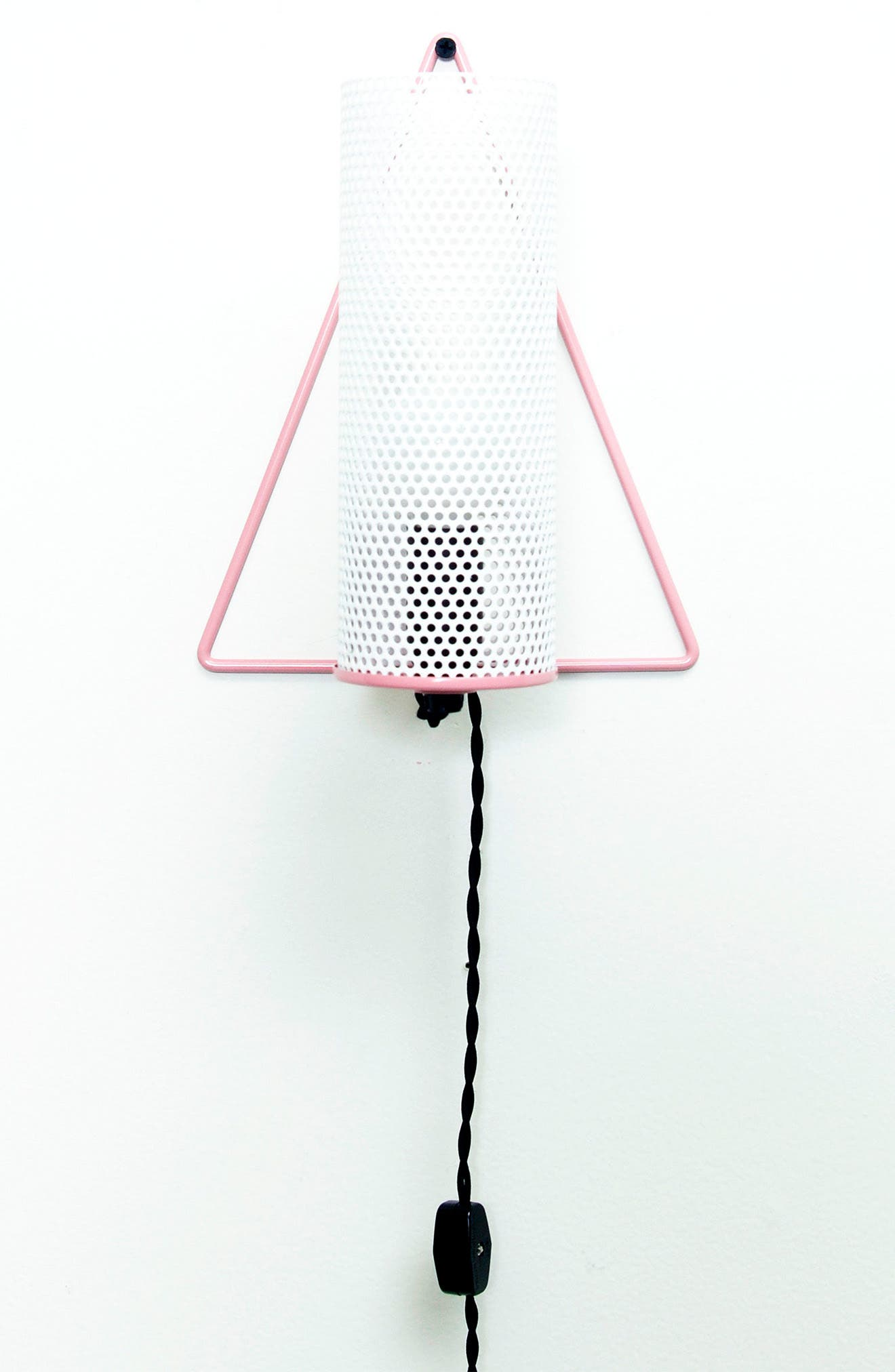 Triangle Light,                         Main,                         color, PINK W WHITE