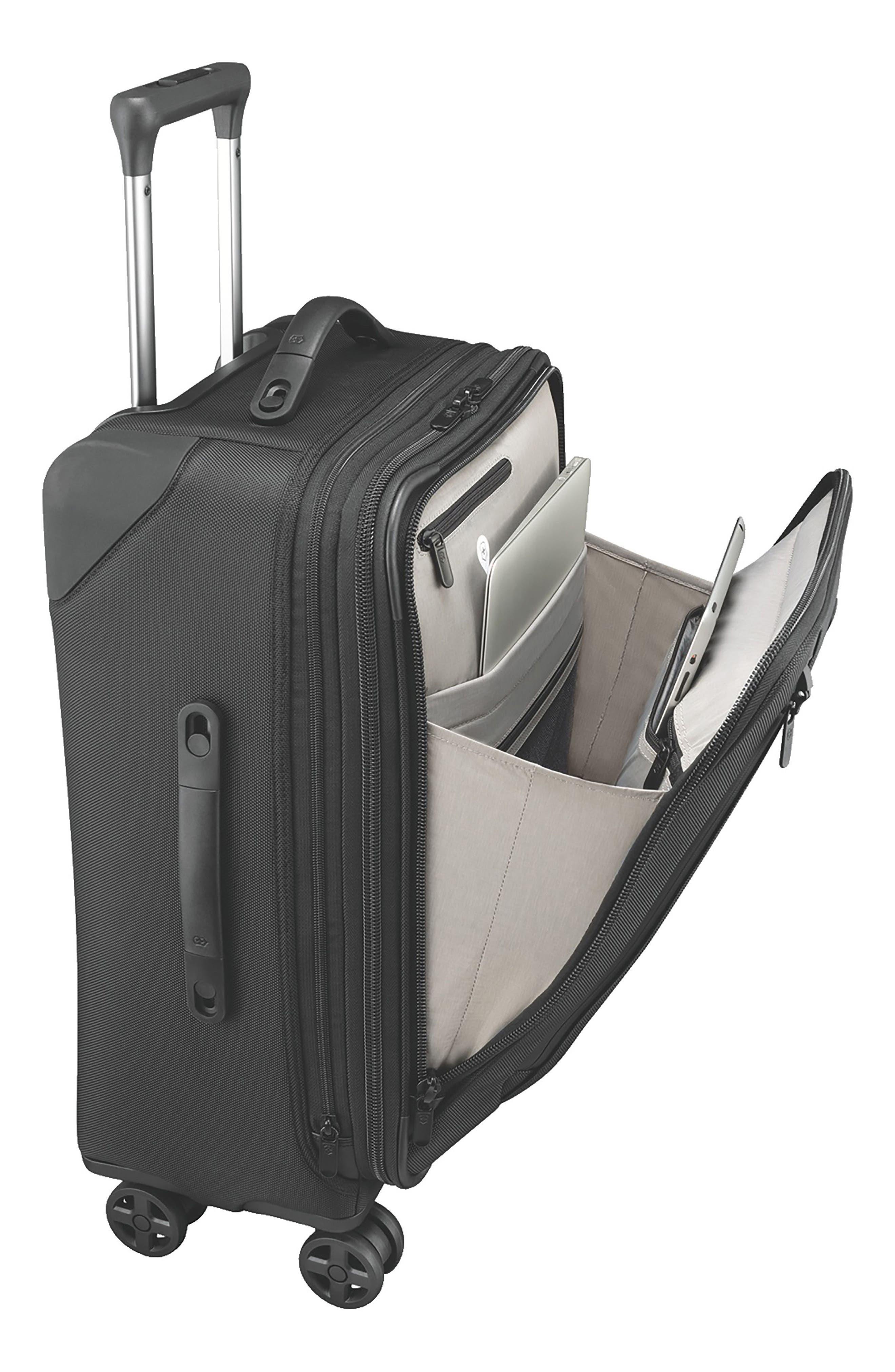 Lexicon 2.0 24-Inch Wheeled Suitcase,                             Alternate thumbnail 3, color,                             BLACK