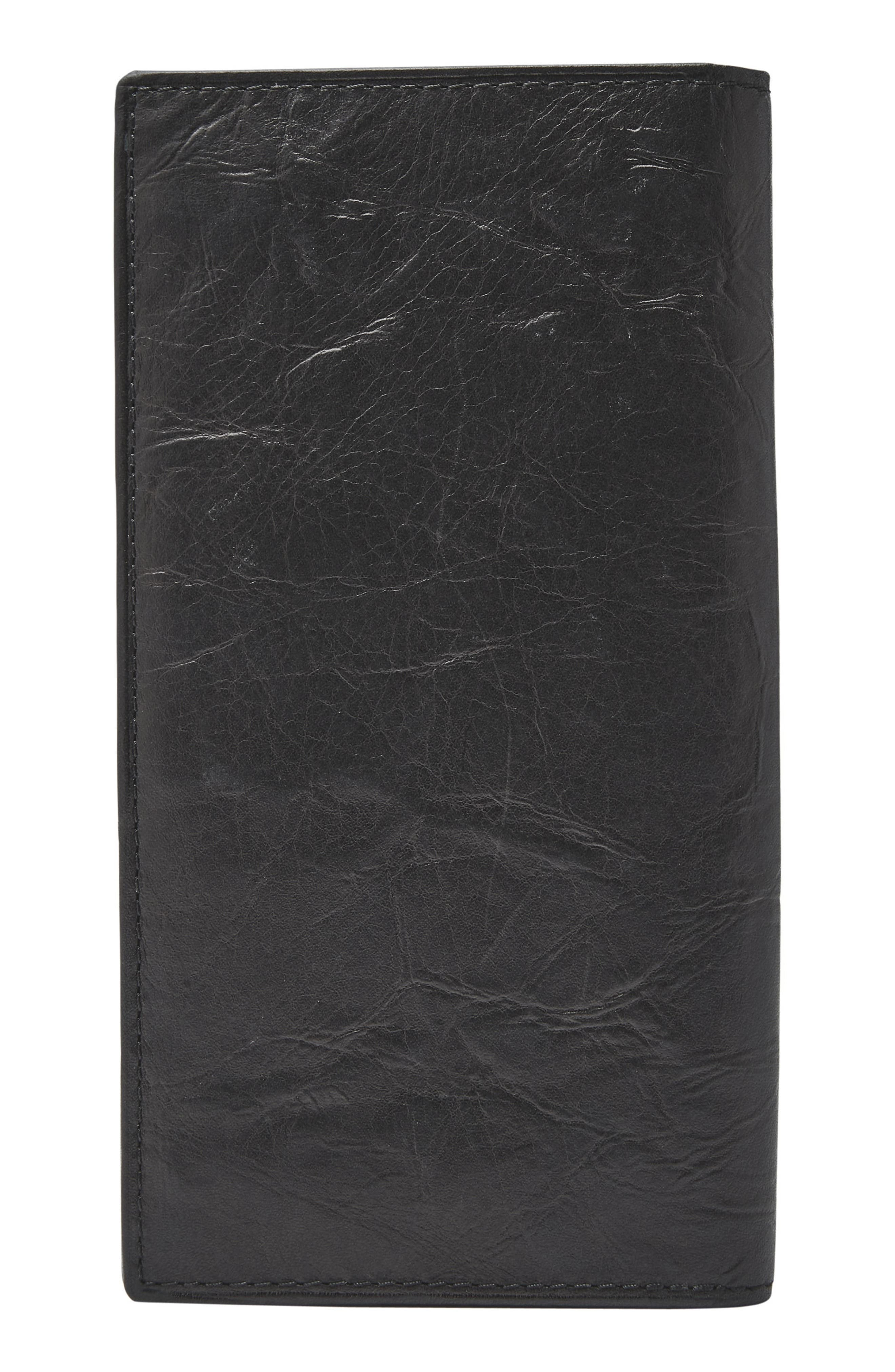 Neel Leather Executive Wallet,                             Alternate thumbnail 3, color,                             001