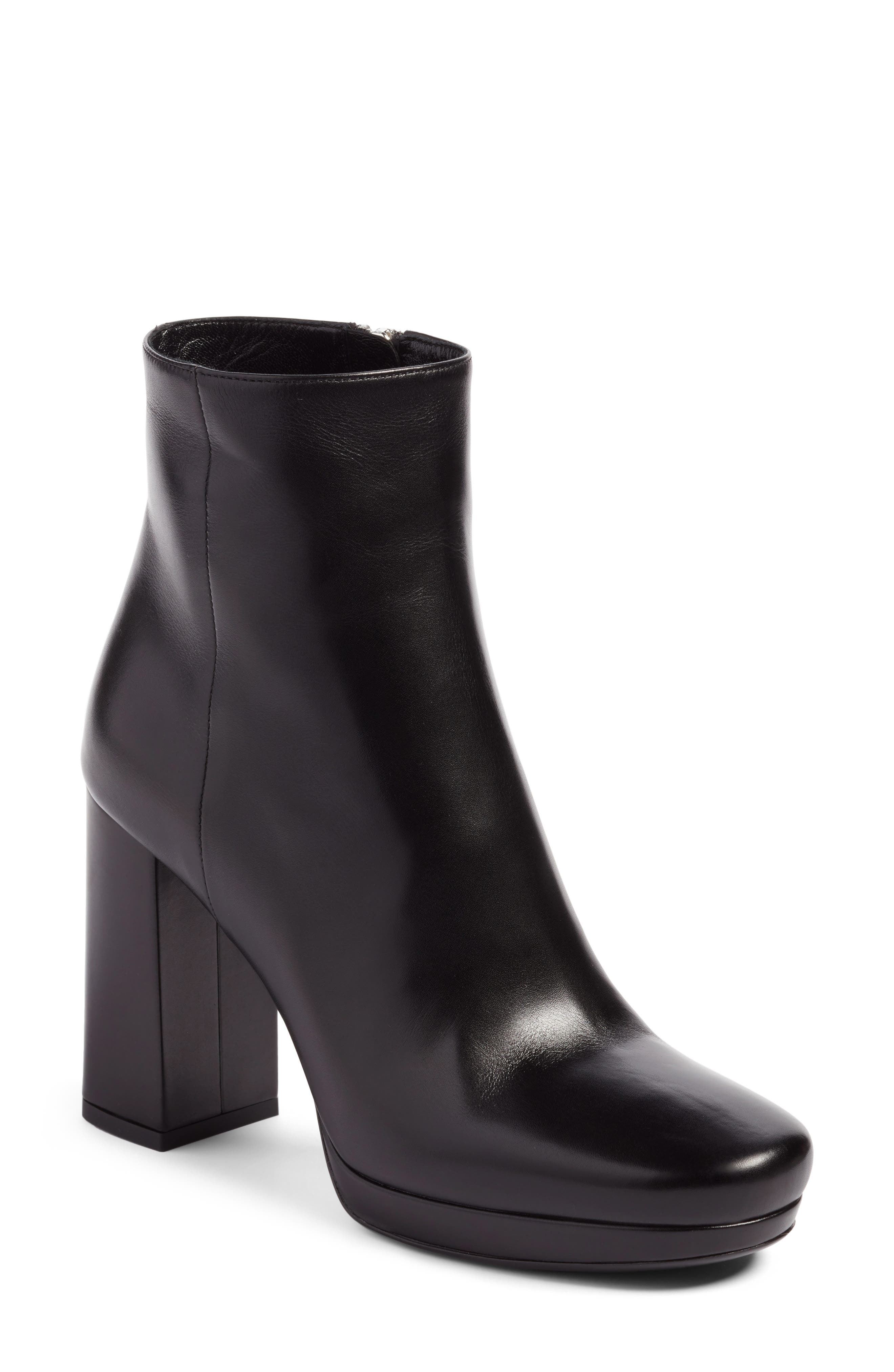 Platform Bootie,                         Main,                         color,