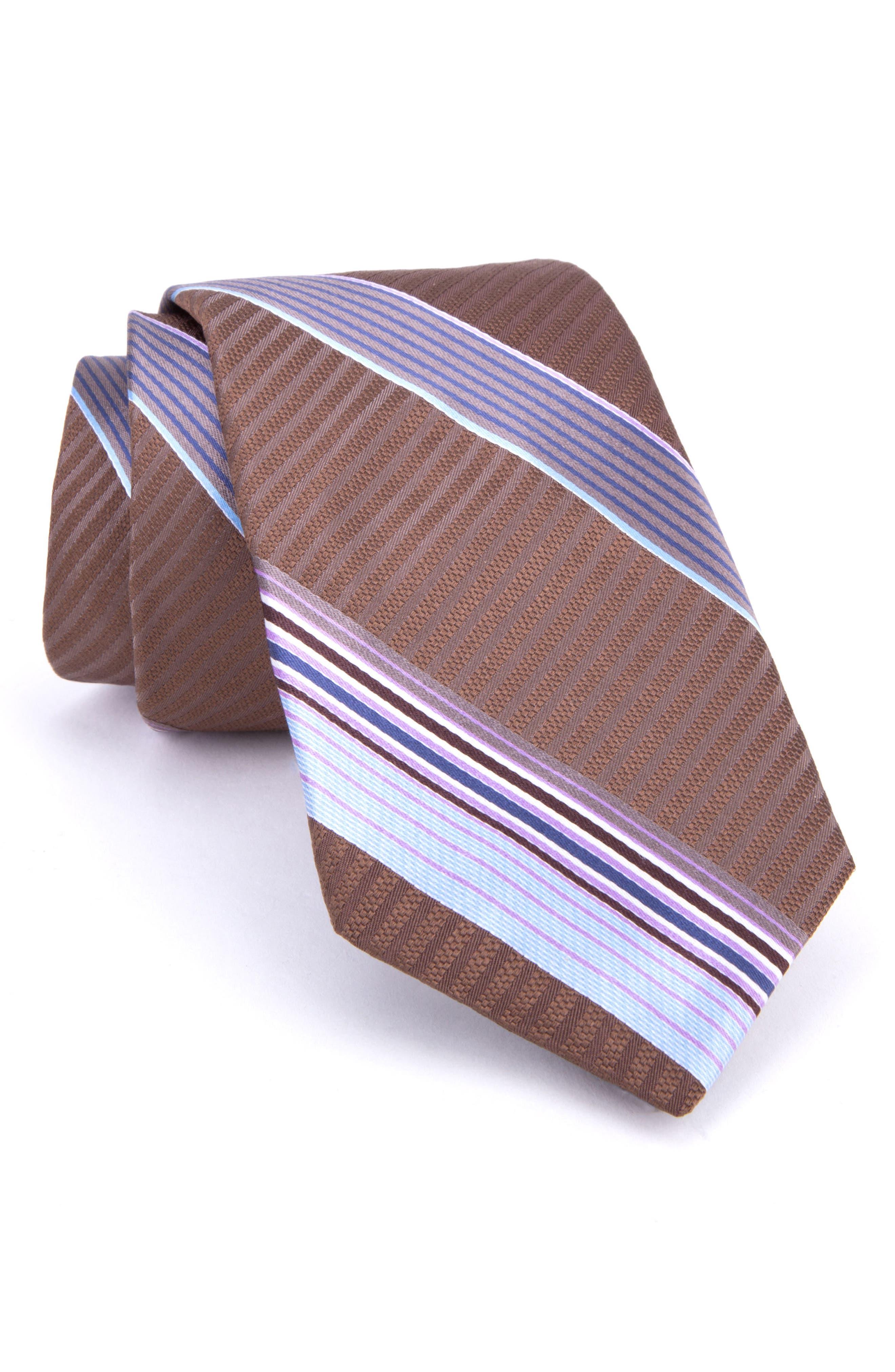 Aventura Stripe Silk Tie,                         Main,                         color, 200