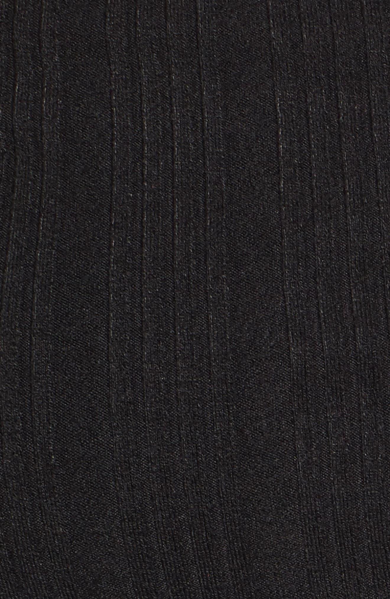 Lenda Off the Shoulder Crop Top,                             Alternate thumbnail 5, color,                             001