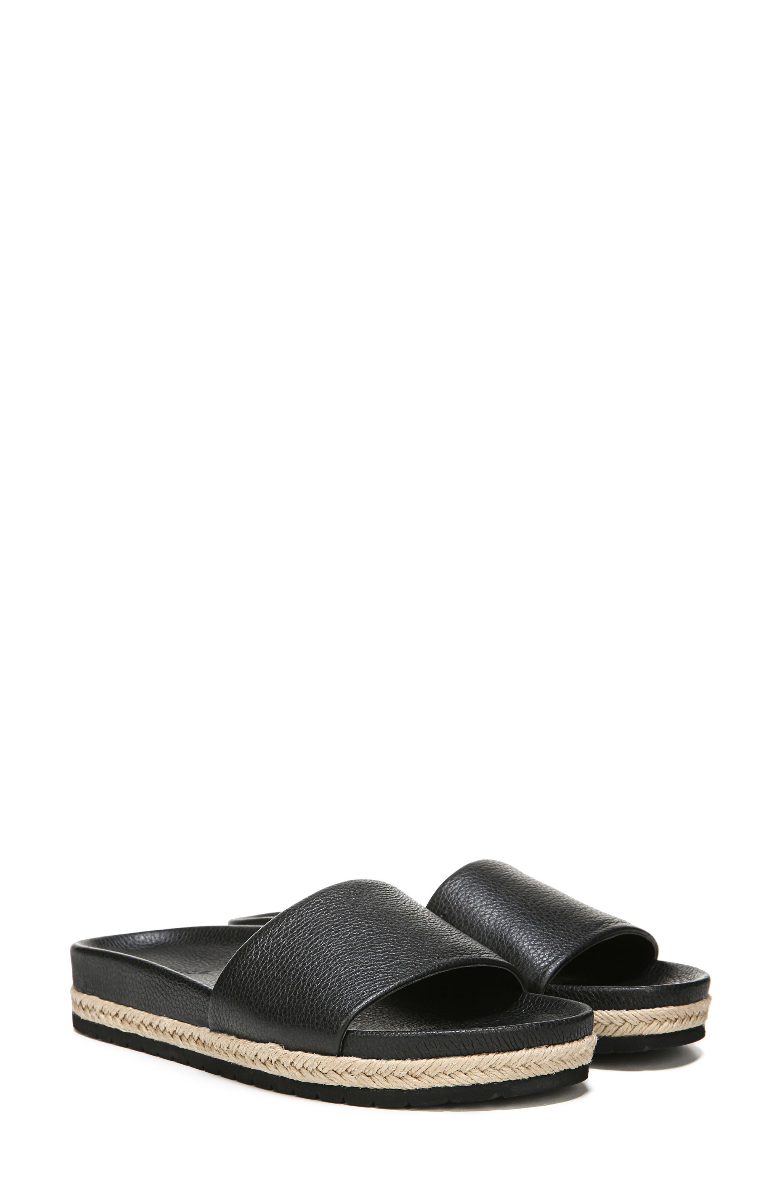 Aurelia Slide Sandal,                             Alternate thumbnail 8, color,                             001