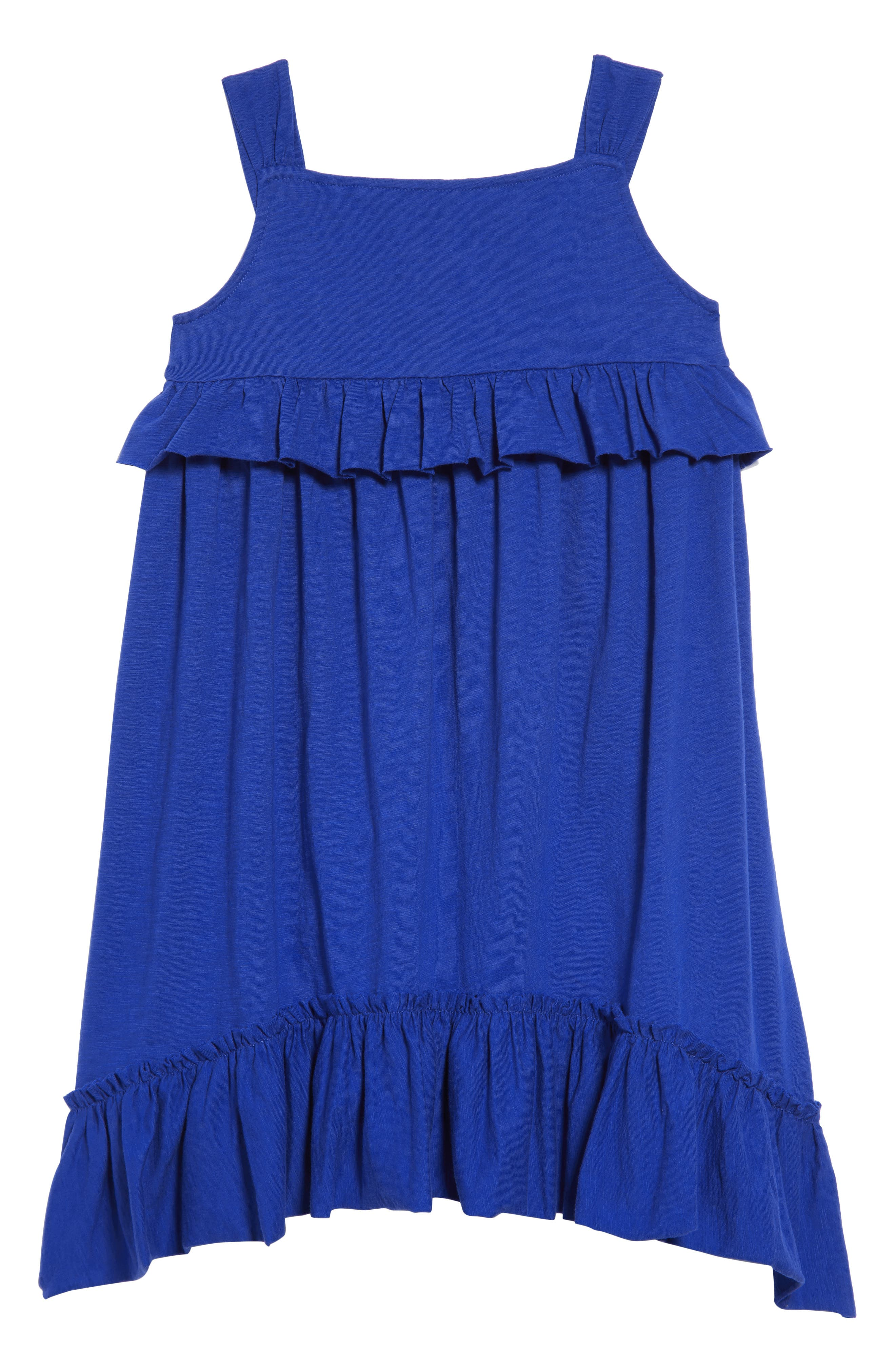 CREWCUTS BY J.CREW,                             Mimi Ruffle Dress,                             Main thumbnail 1, color,                             400
