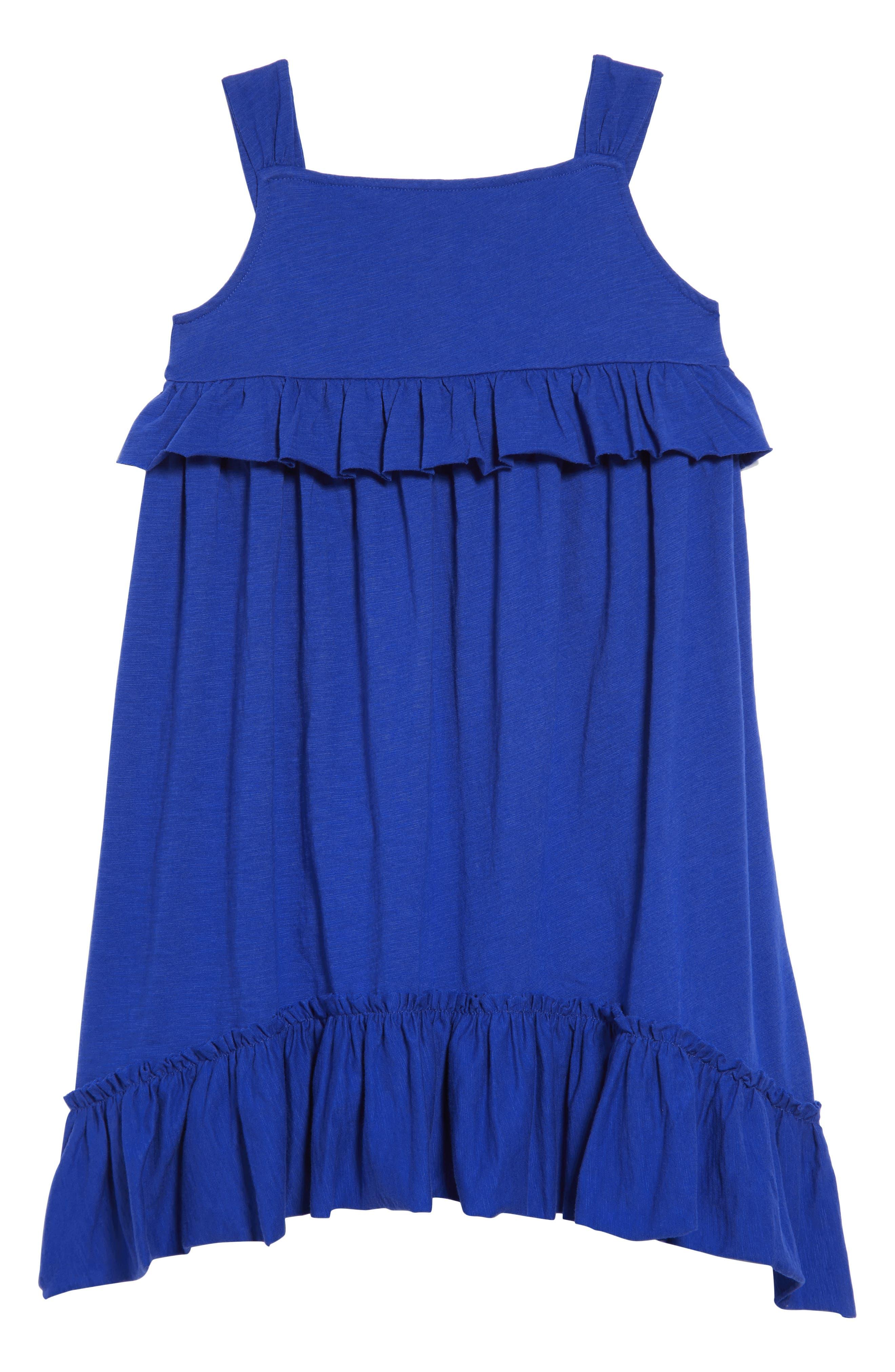 CREWCUTS BY J.CREW Mimi Ruffle Dress, Main, color, 400