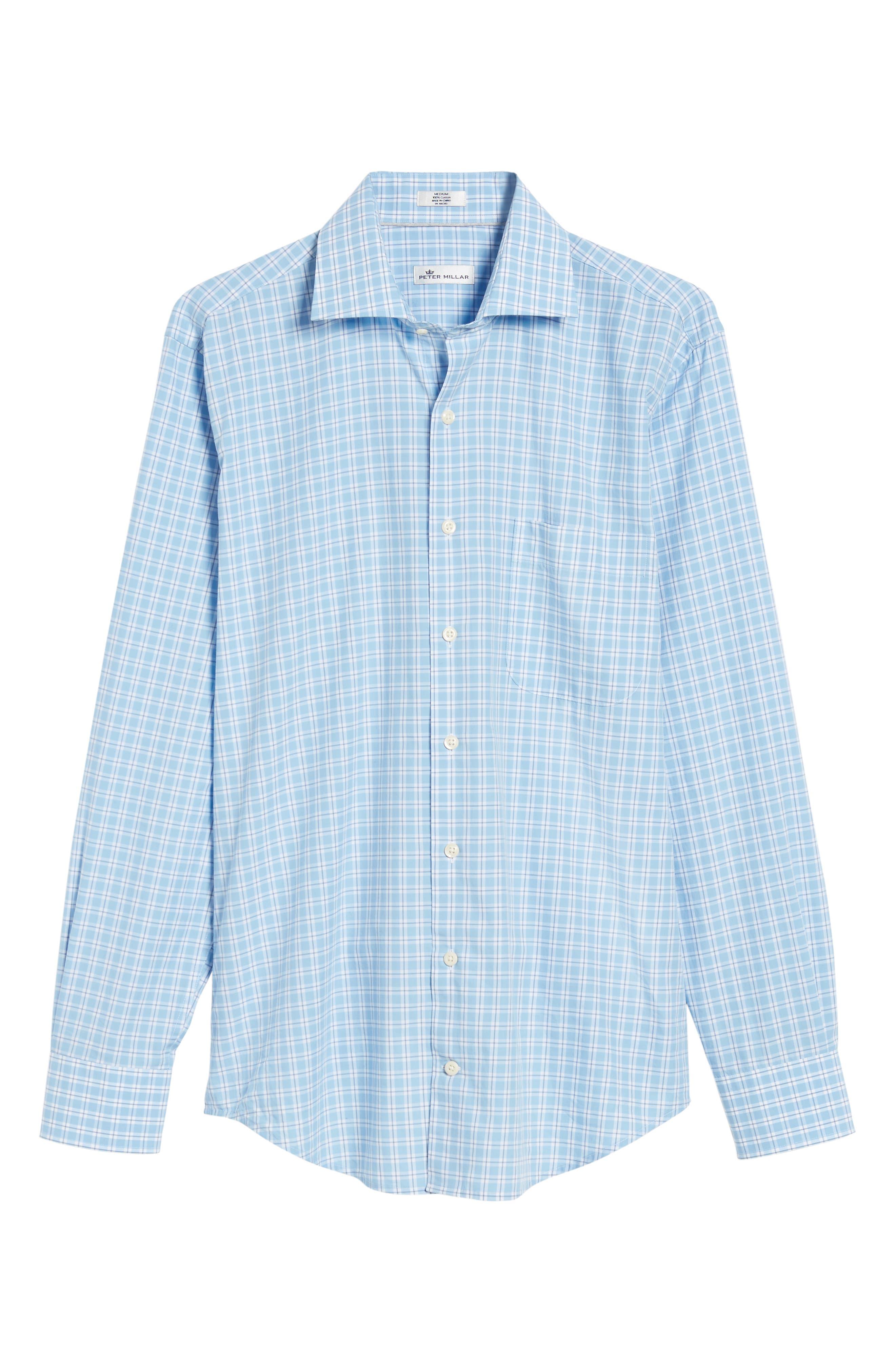 Ballard Regular Fit Check Sport Shirt,                             Alternate thumbnail 6, color,                             400