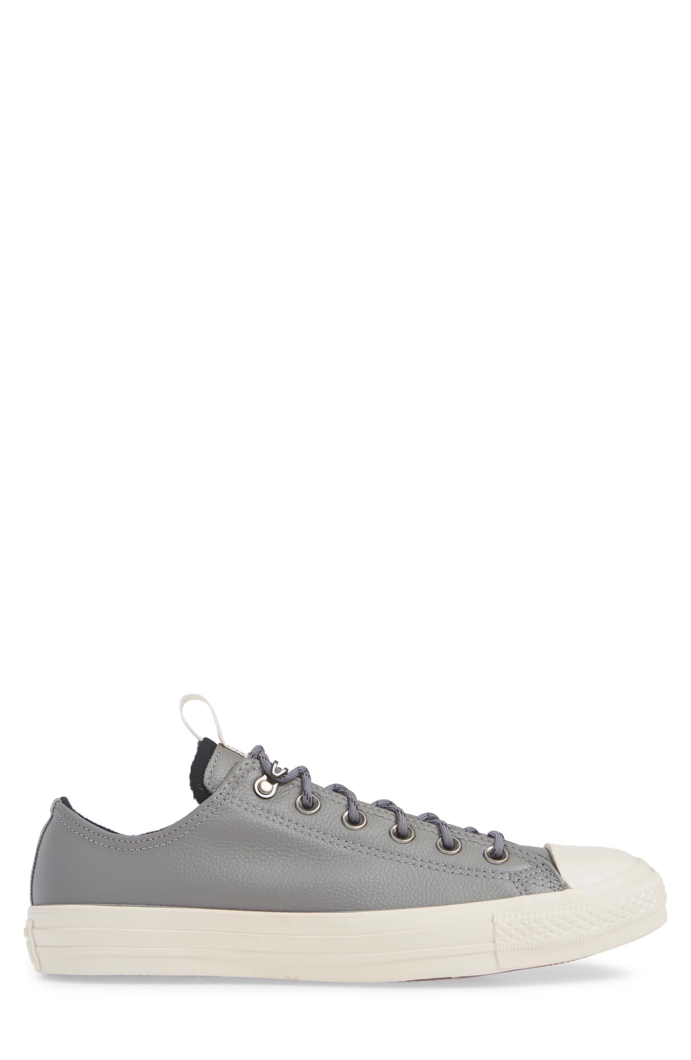 Chuck Taylor<sup>®</sup> All Star<sup>®</sup> Desert Storm Ox Sneaker,                             Alternate thumbnail 3, color,                             WHITE/ LIGHT FAWN/ EGRET