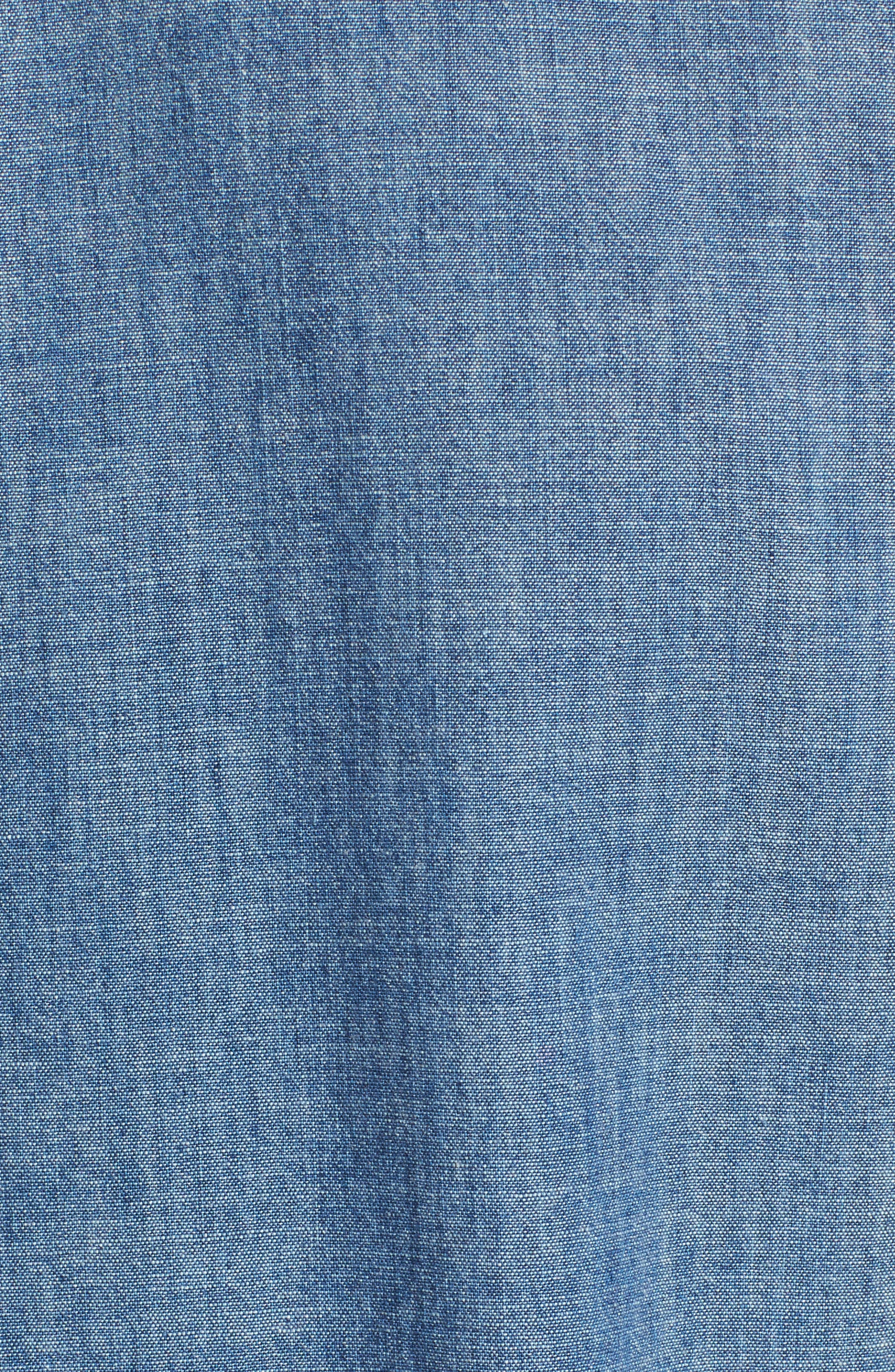 Chambray Chemise Shirt,                             Alternate thumbnail 2, color,                             461