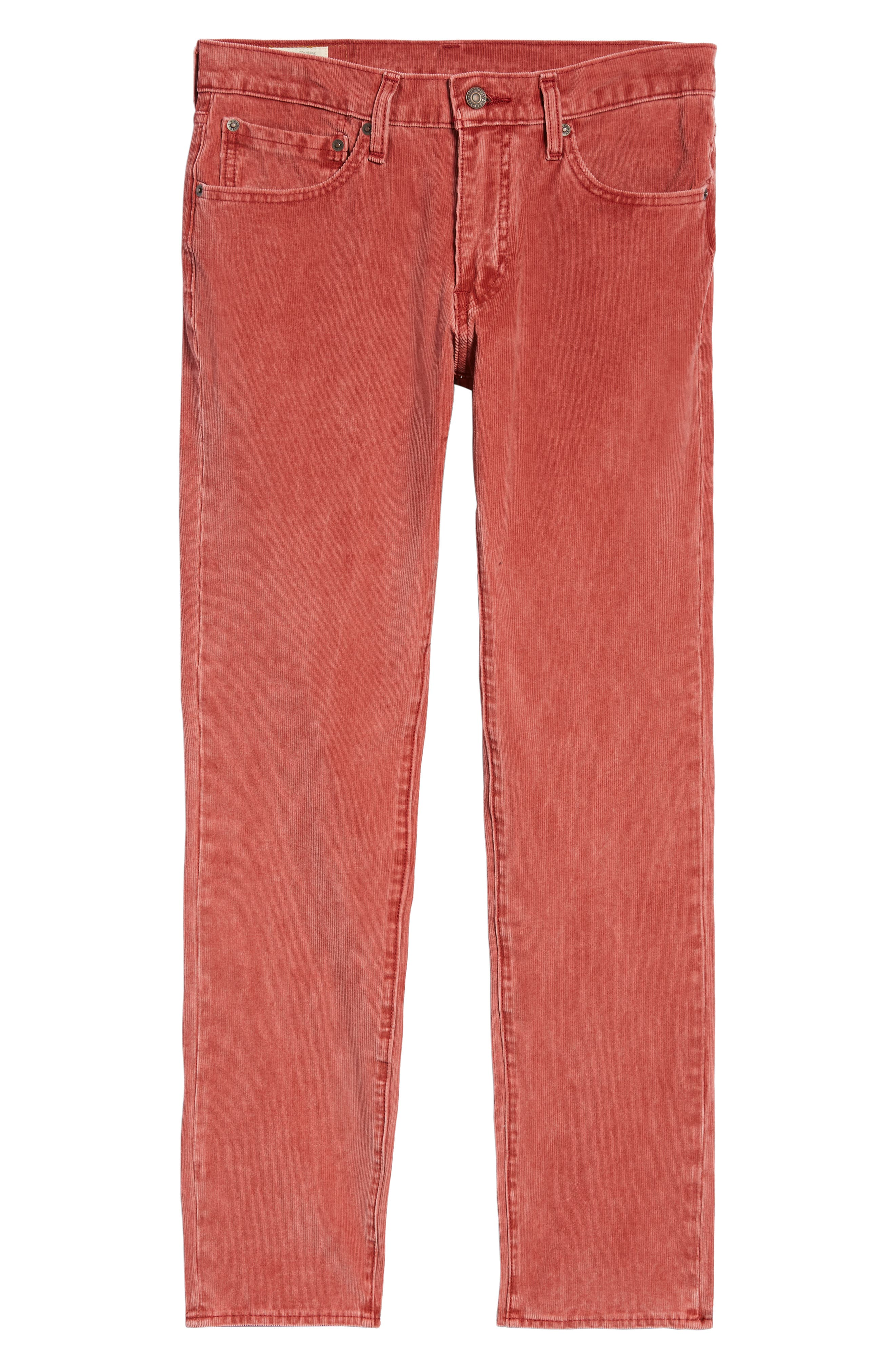 511<sup>™</sup> Slim Fit Corduroy Pants,                             Alternate thumbnail 6, color,                             RALLY RED