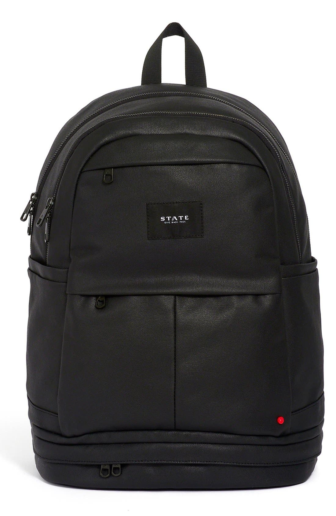 STATE BAGS,                             'Lenox' Backpack,                             Main thumbnail 1, color,                             001