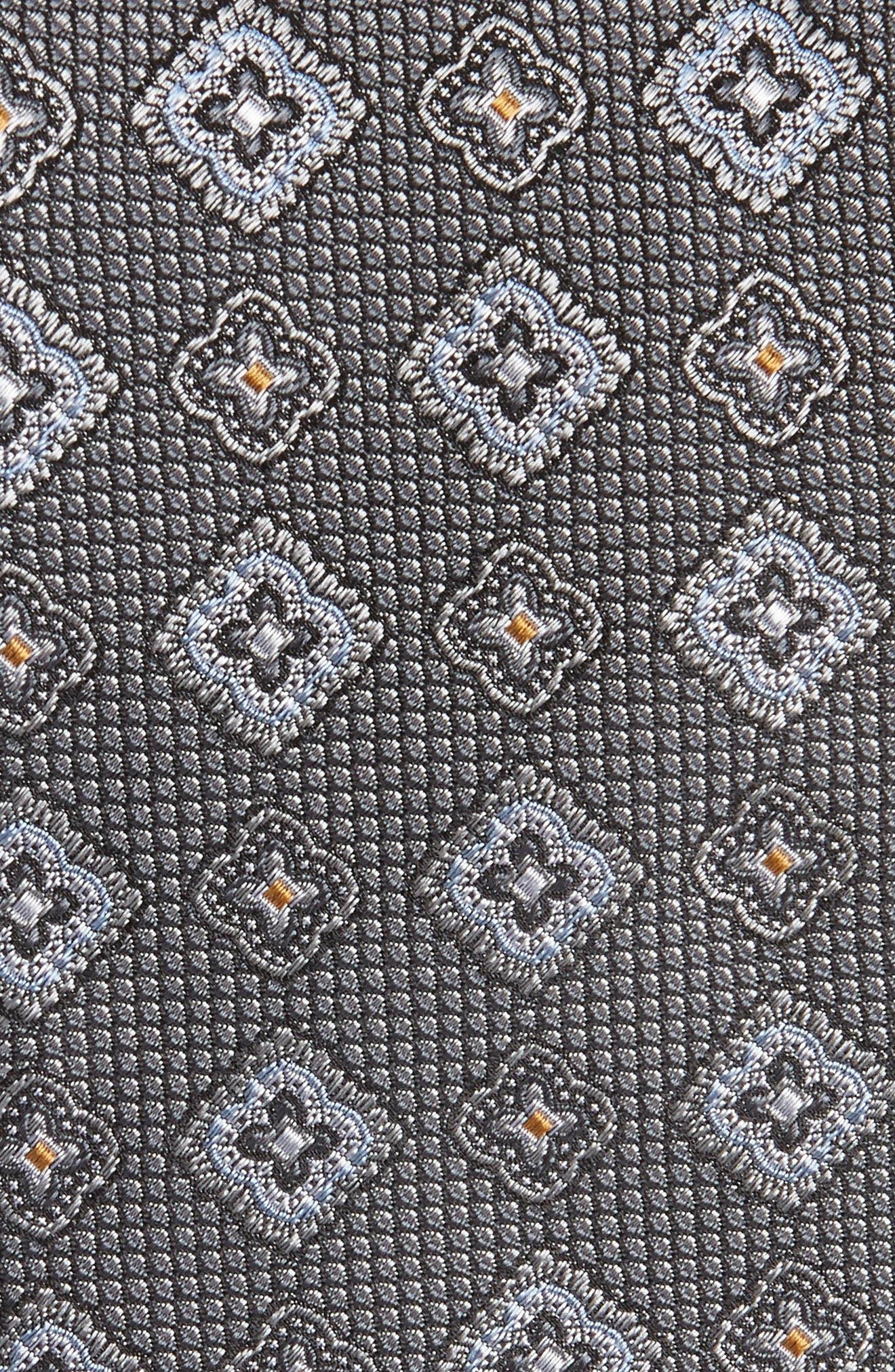 Silk Medallion Tie,                             Alternate thumbnail 2, color,                             040