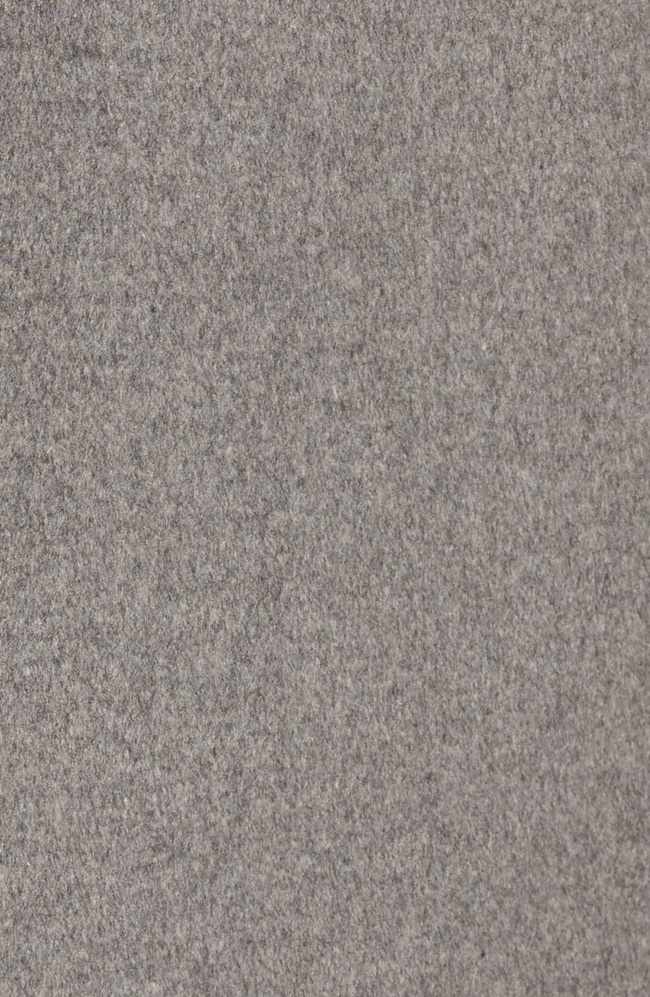 DKNY Lavish Wool Blend Coat,                             Alternate thumbnail 12, color,