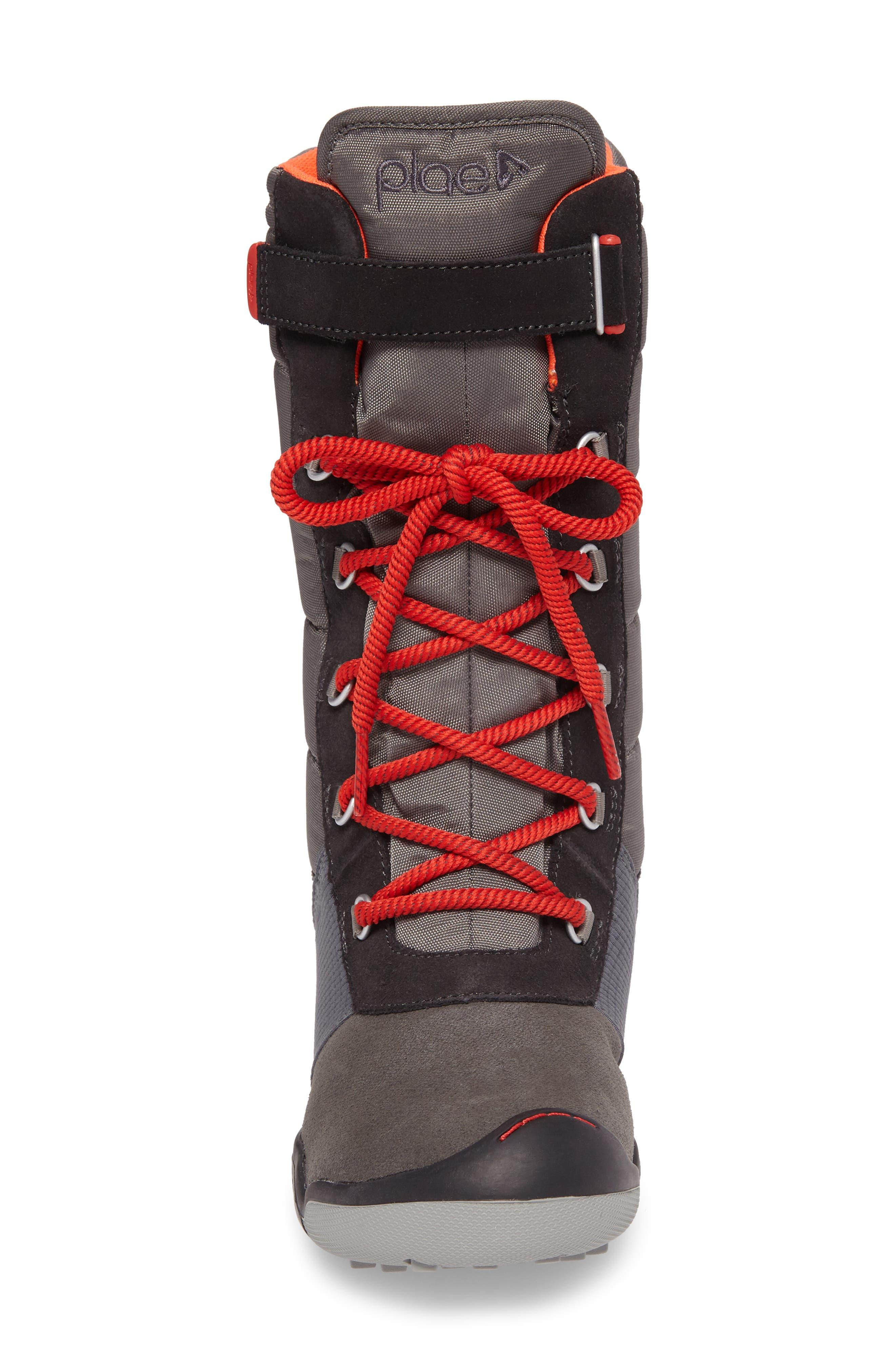 Jack Customizable Waterproof Boot,                             Alternate thumbnail 4, color,                             DARK