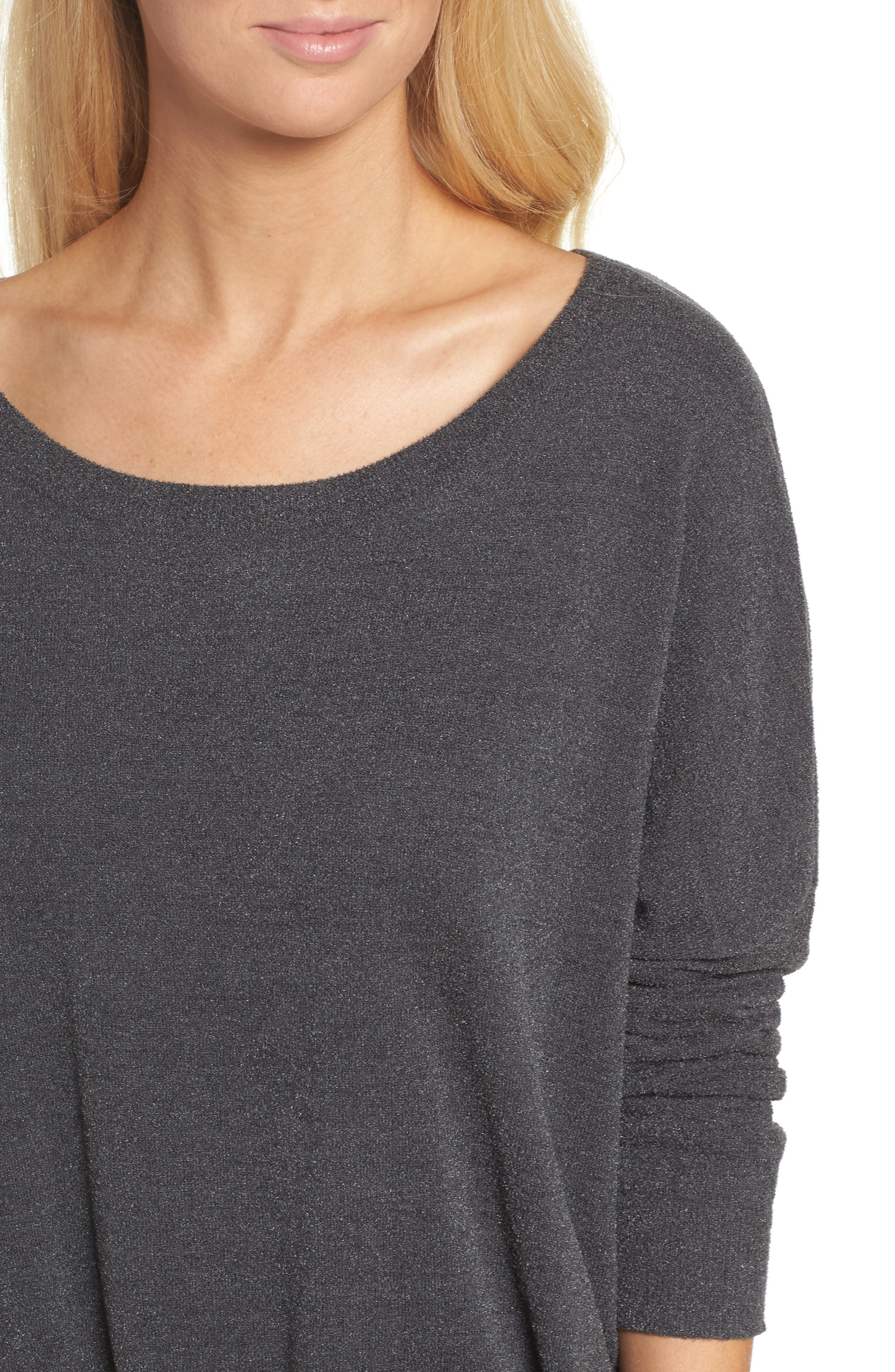Cozychic Ultra Lite<sup>®</sup> Lounge Pullover,                             Alternate thumbnail 4, color,                             CARBON