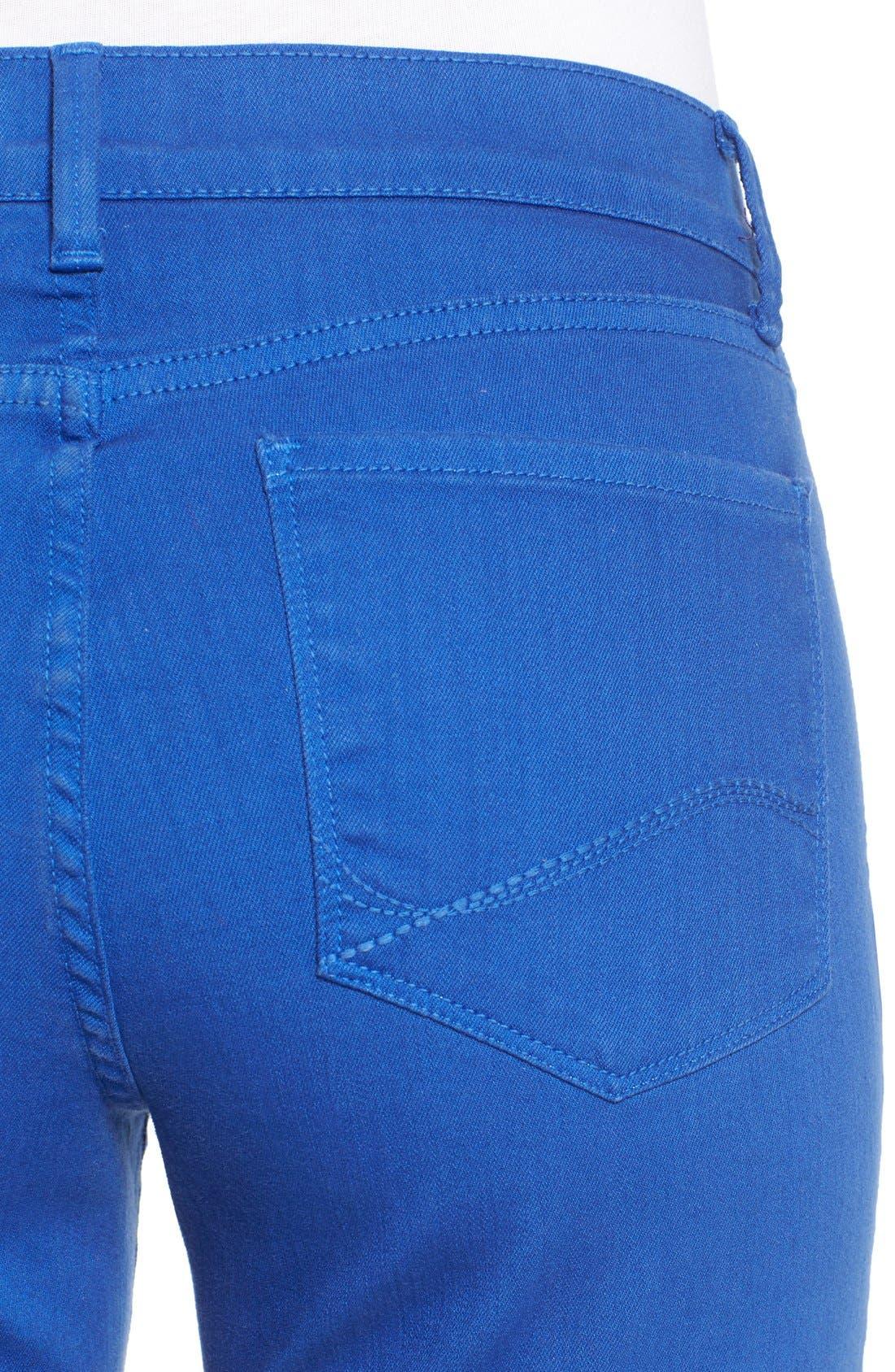 'Dayla' Colored Wide Cuff Capri Jeans,                             Alternate thumbnail 51, color,