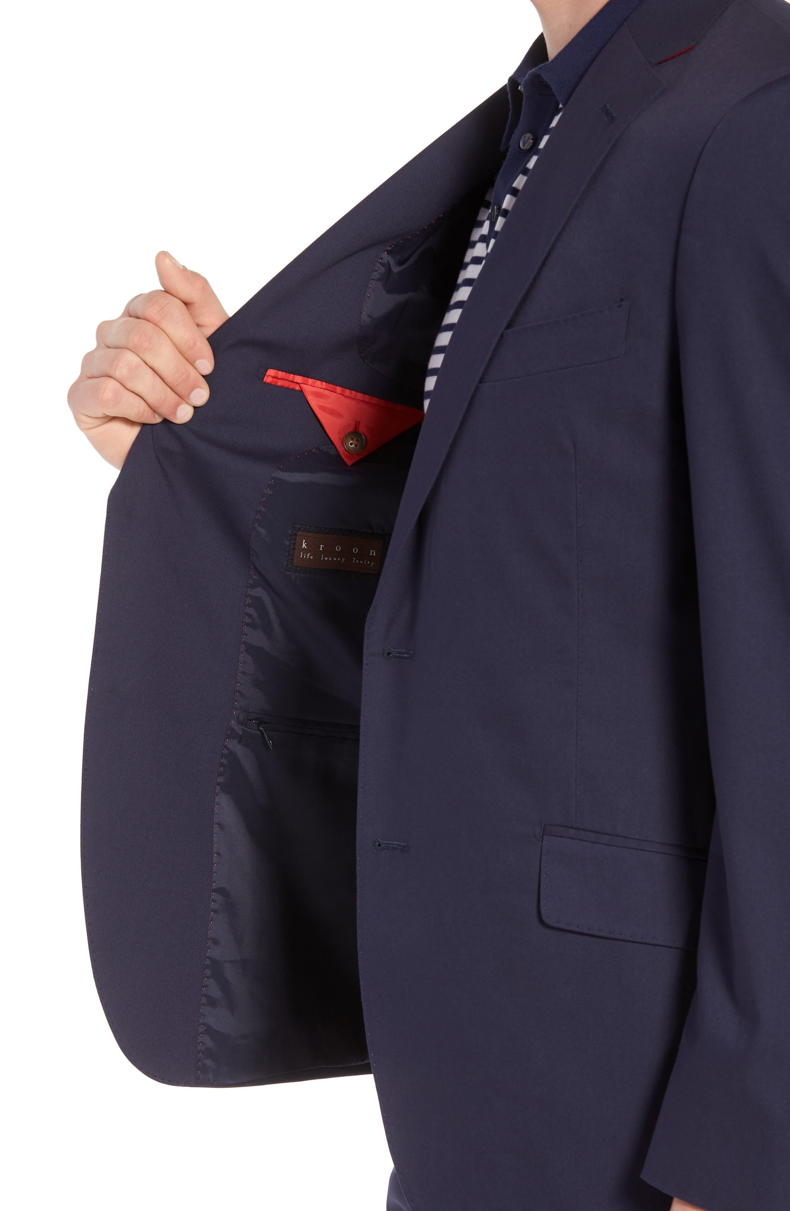 Irons AIM Classic Fit Solid Cotton Blend Suit,                             Alternate thumbnail 4, color,                             410