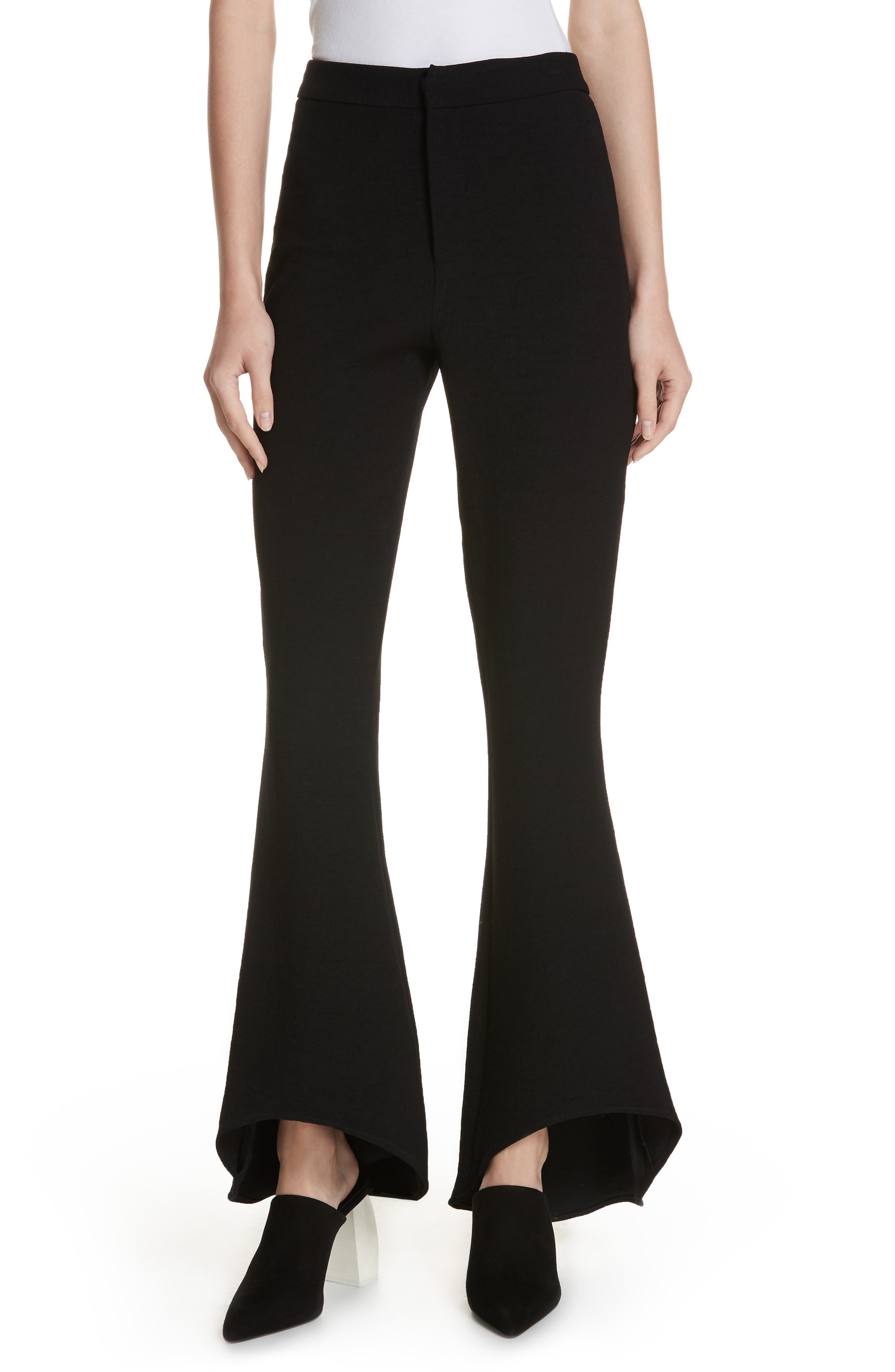 The Carmen Flare Pants,                         Main,                         color, BLACK