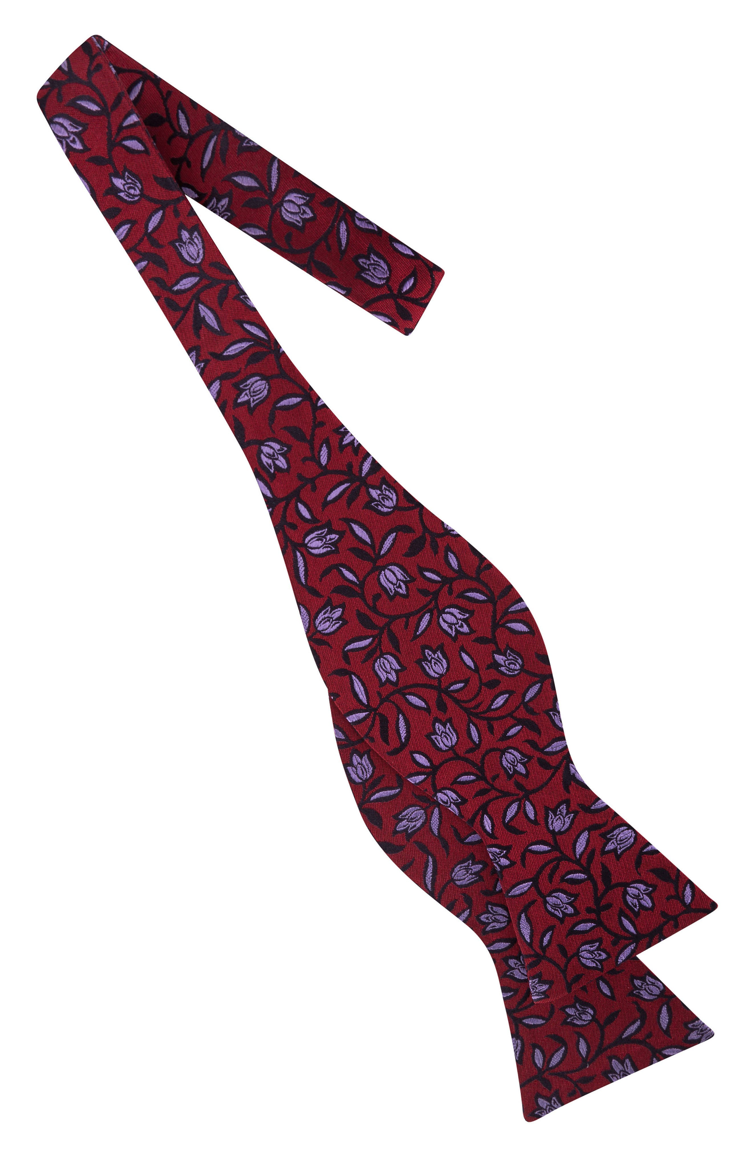 Botanical Bow Tie,                             Alternate thumbnail 6, color,