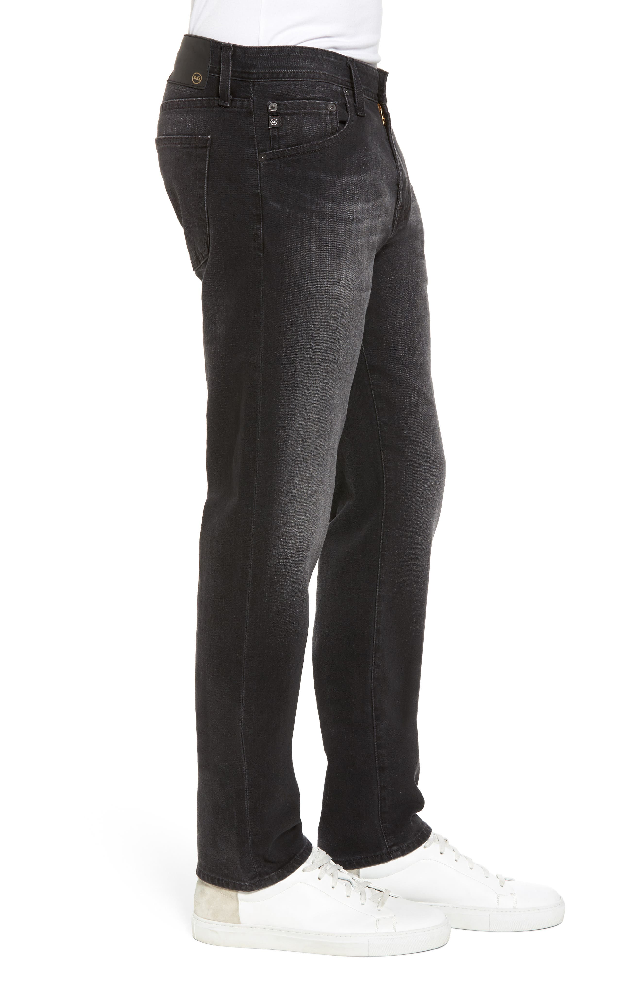 Tellis Modern Slim Fit Jeans,                             Alternate thumbnail 3, color,                             019
