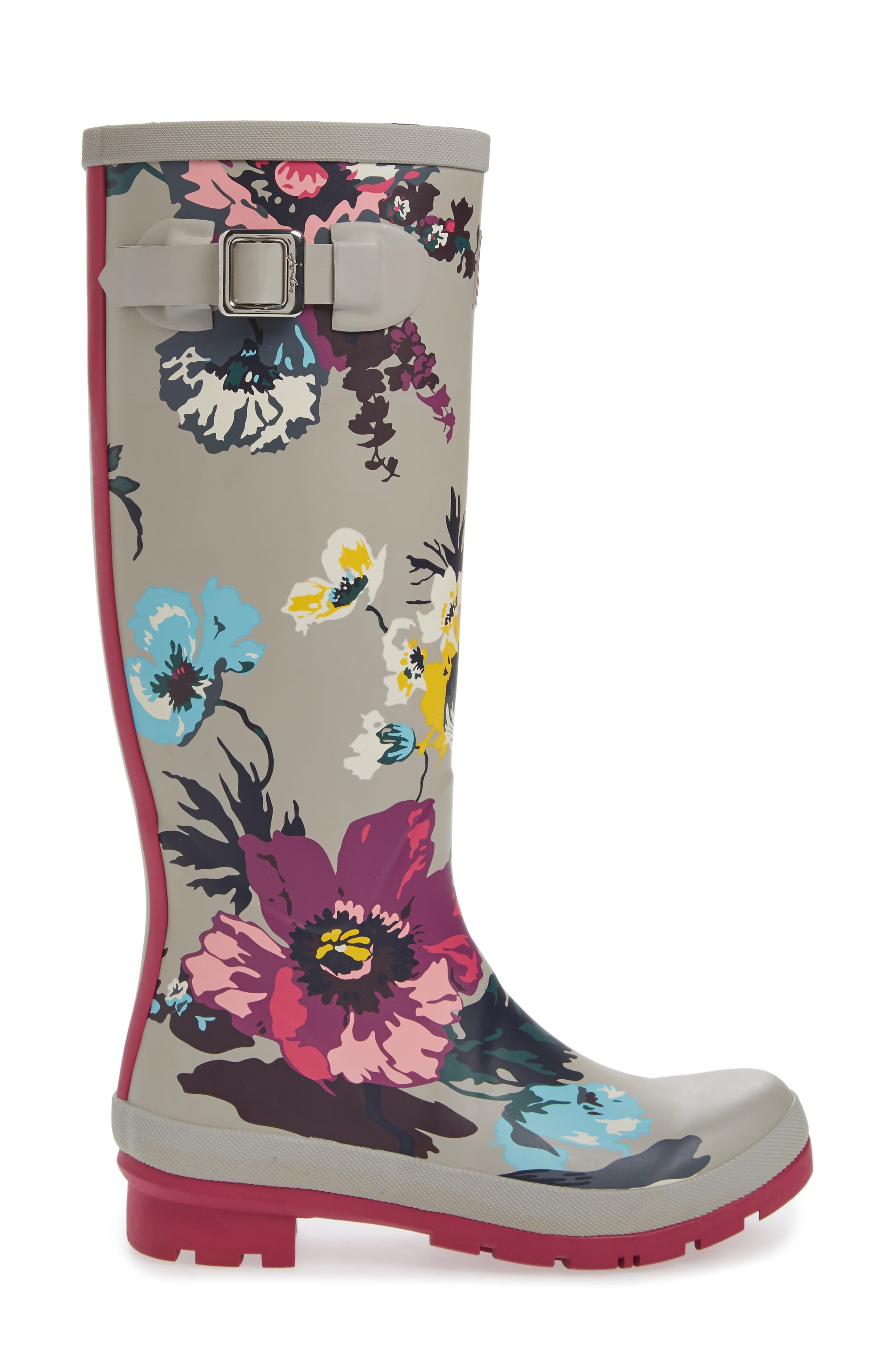 'Welly' Print Rain Boot,                             Alternate thumbnail 77, color,