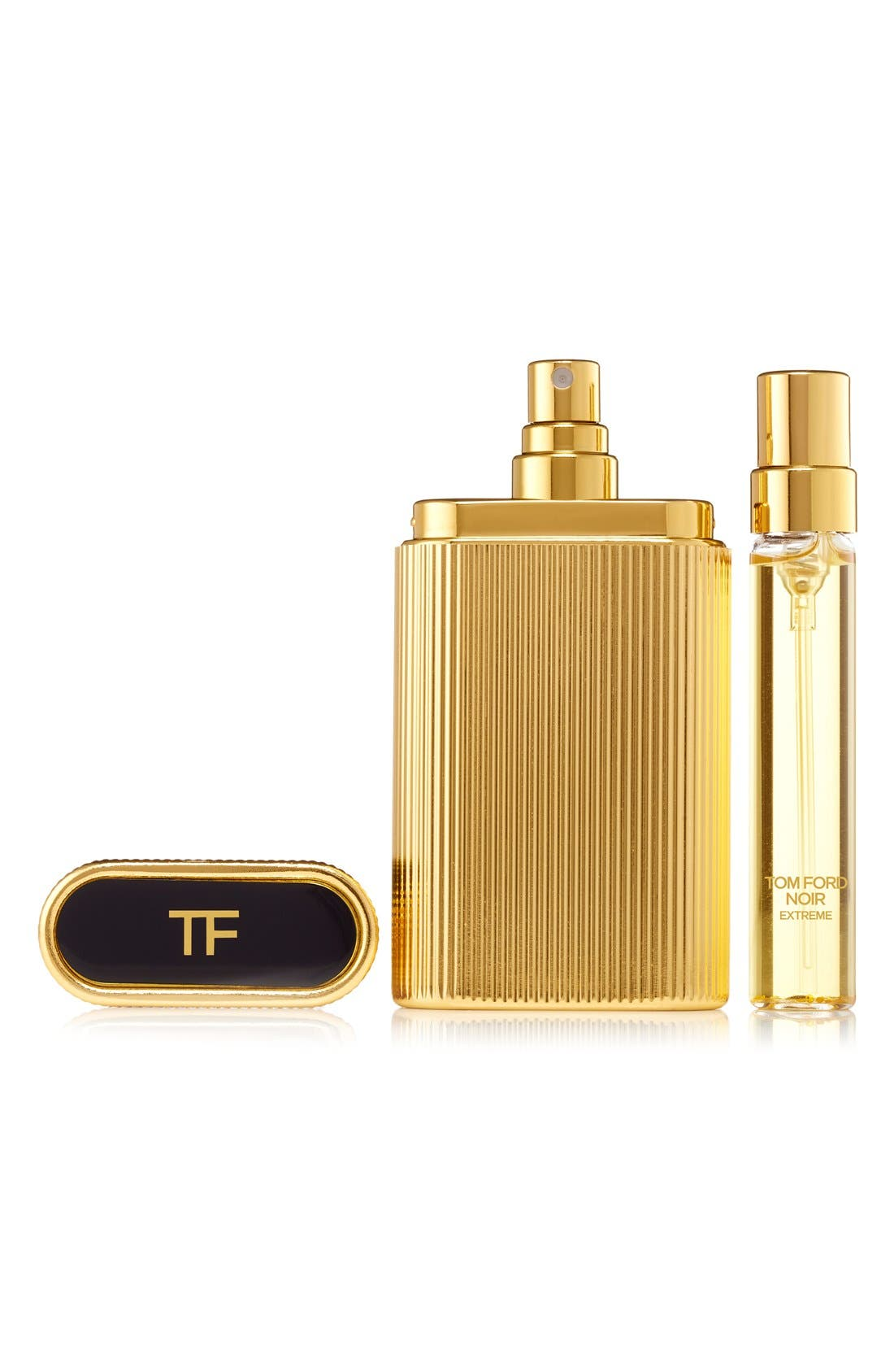 Noir Extreme Perfume Atomizer,                             Main thumbnail 1, color,                             NO COLOR