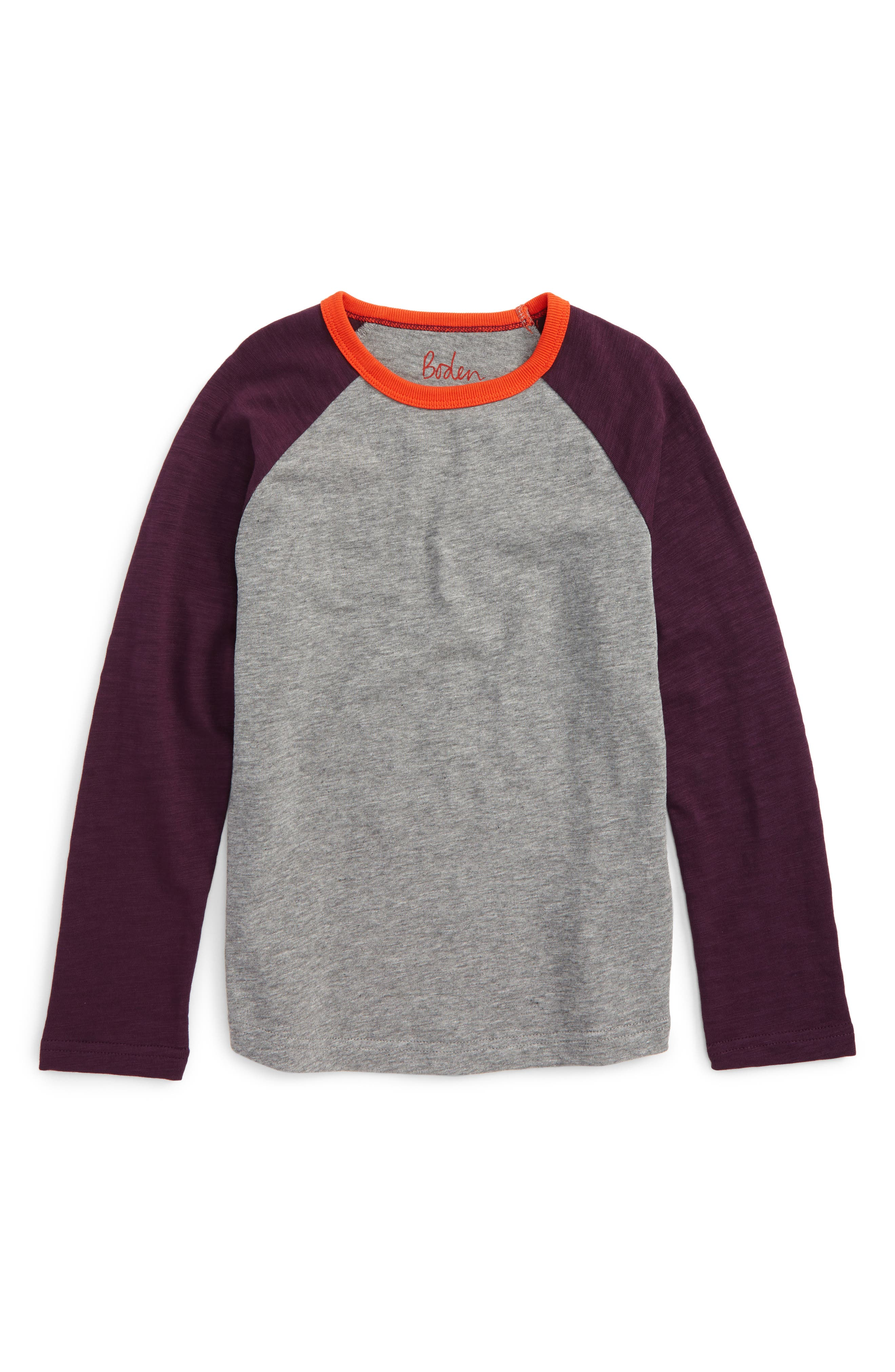 Raglan Sleeve T-Shirt,                         Main,                         color, 062