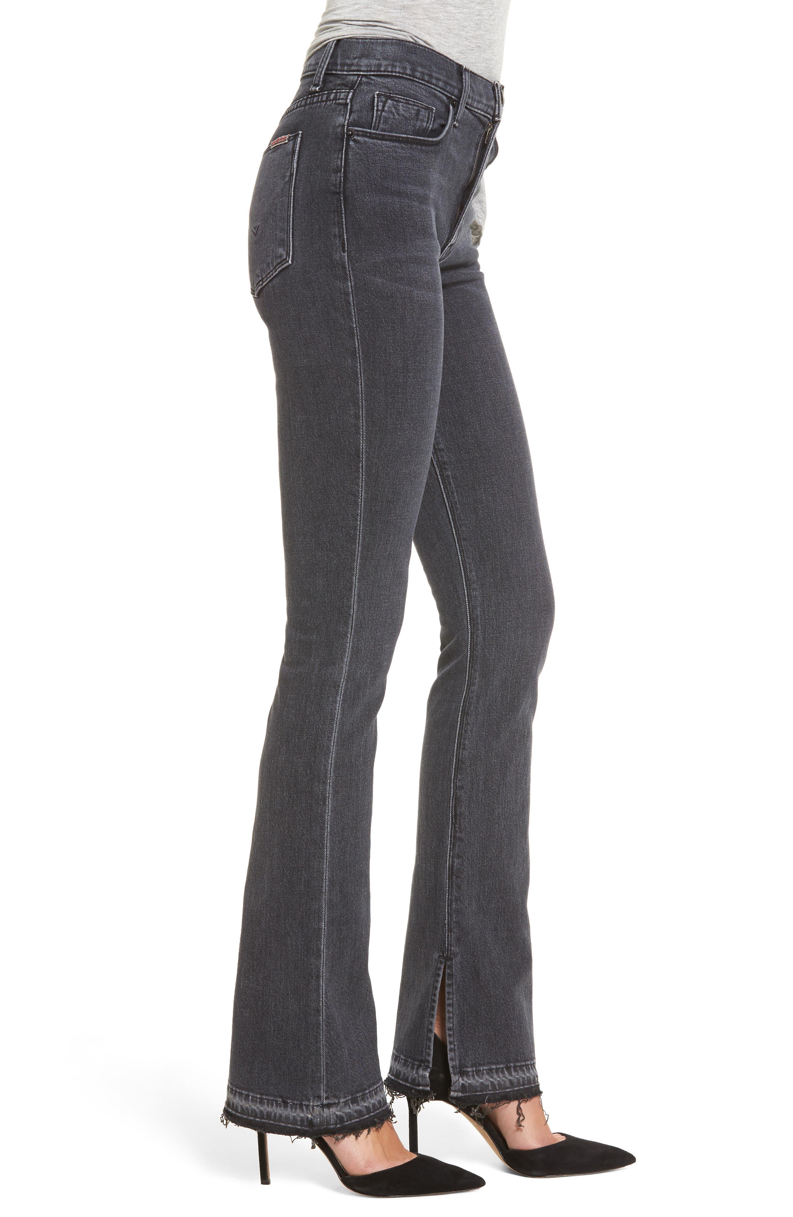 Heartbreaker High Waist Bootcut Jeans,                             Alternate thumbnail 3, color,                             001