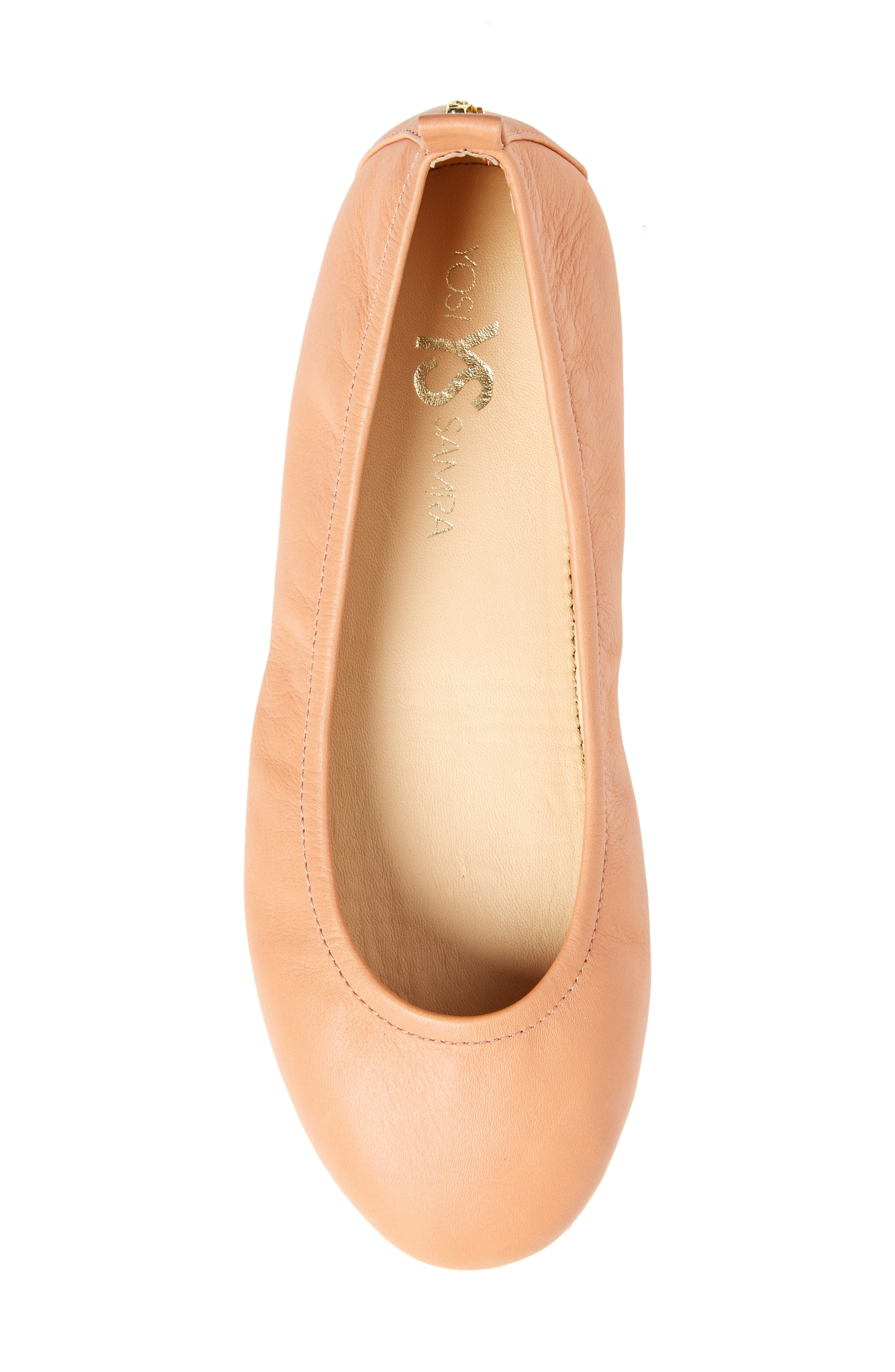 Stella Foldable Ballet Flat,                             Alternate thumbnail 15, color,