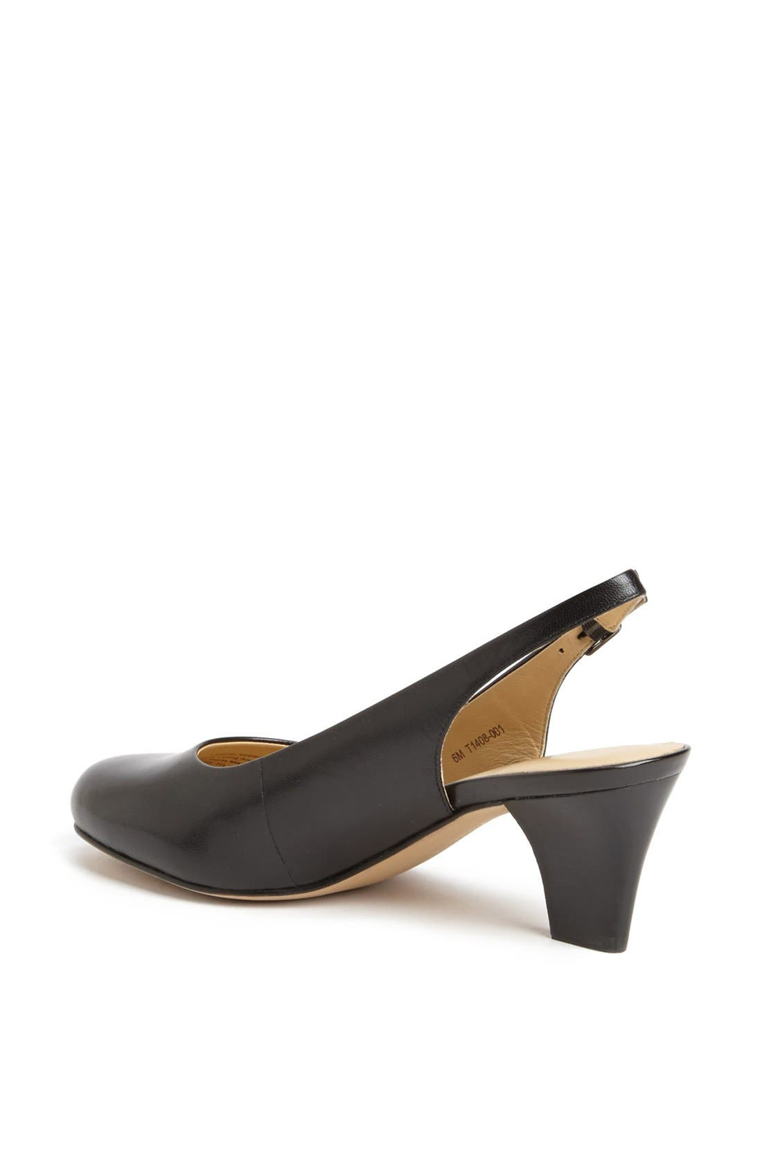 'Pella' Slingback Pump,                             Alternate thumbnail 2, color,                             001