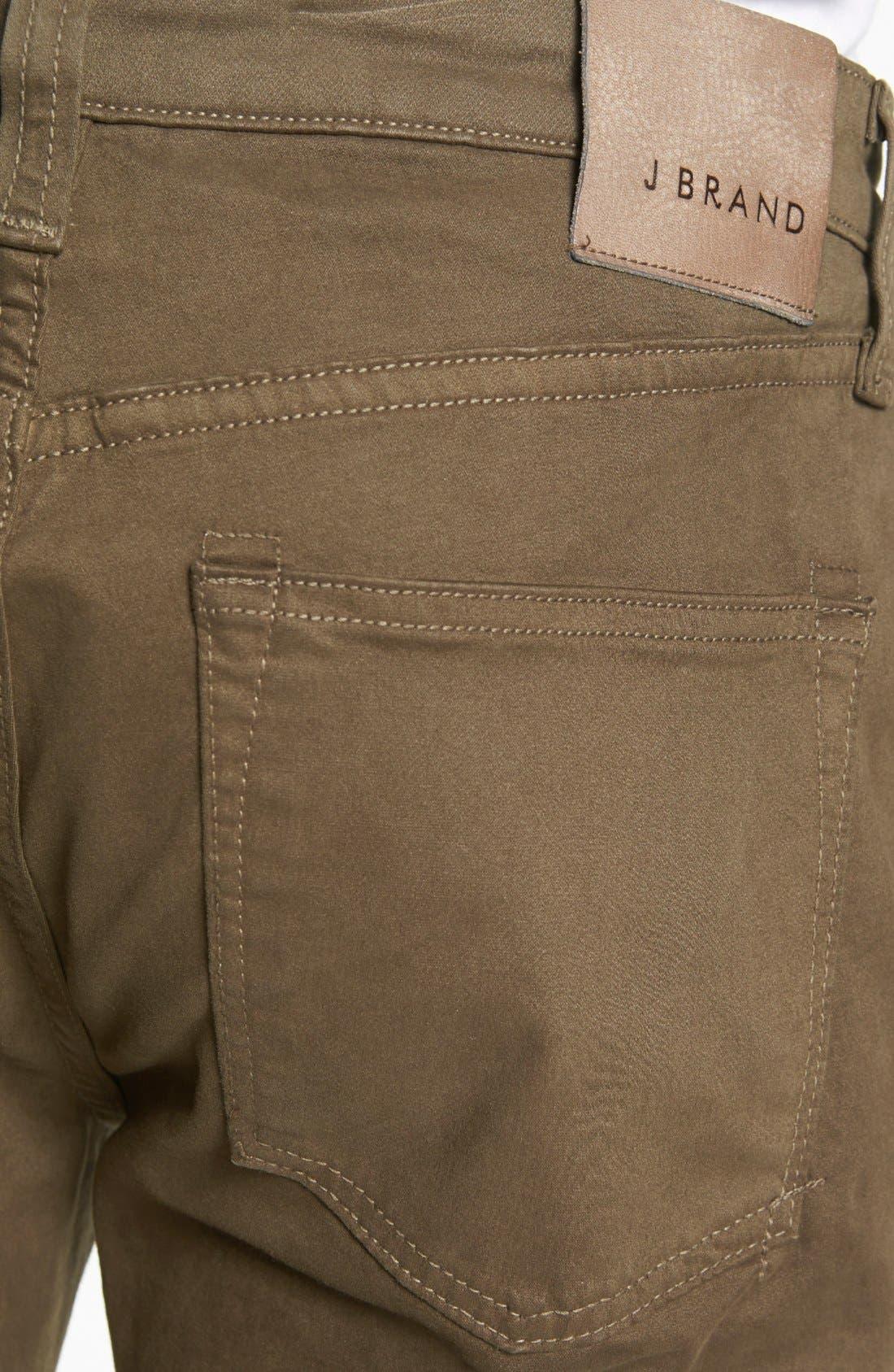 'Kane' Slim Fit Cotton Twill Pants,                             Alternate thumbnail 29, color,