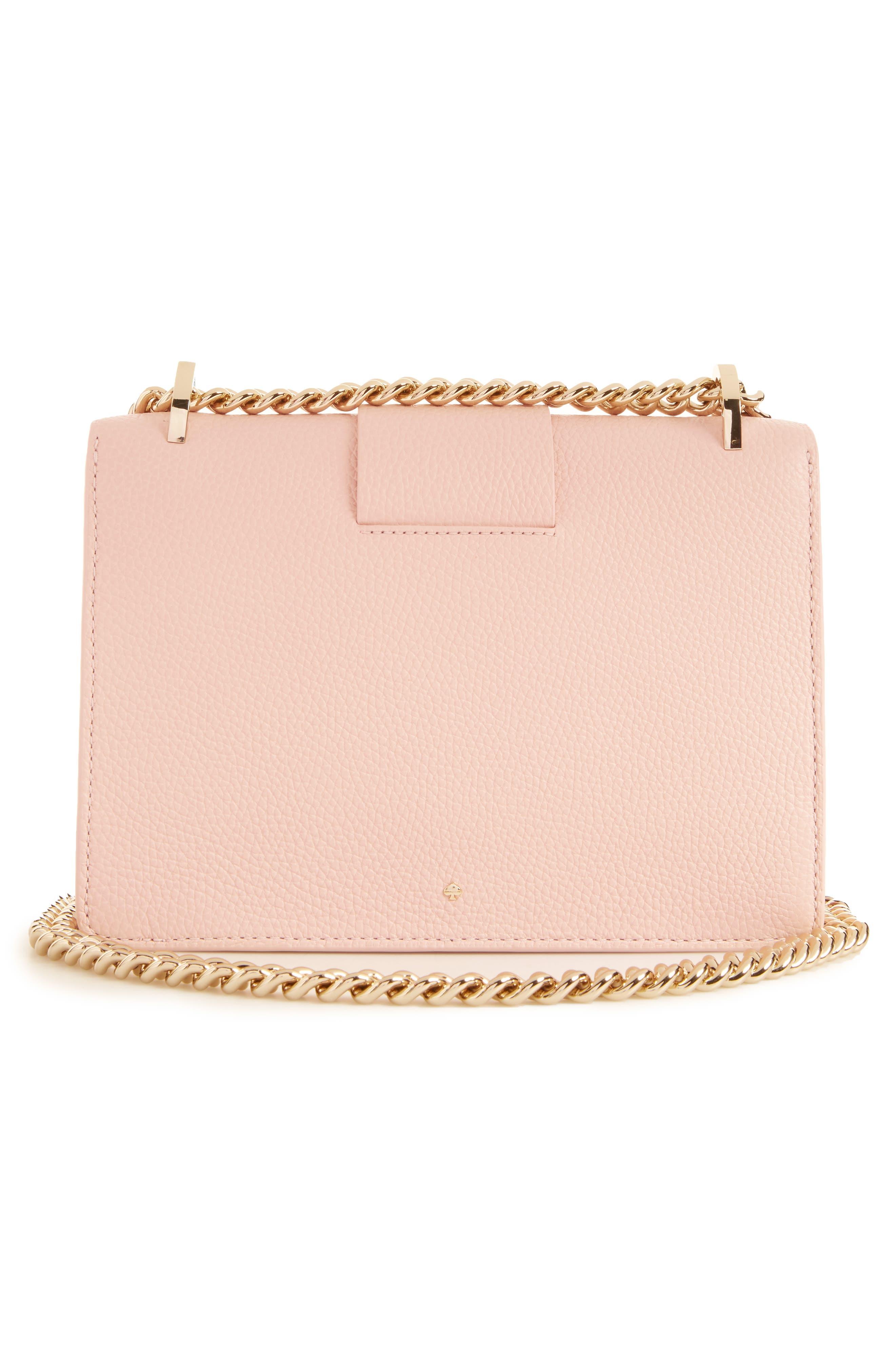 madison knollwood drive - buckle marci leather shoulder bag,                             Alternate thumbnail 6, color,