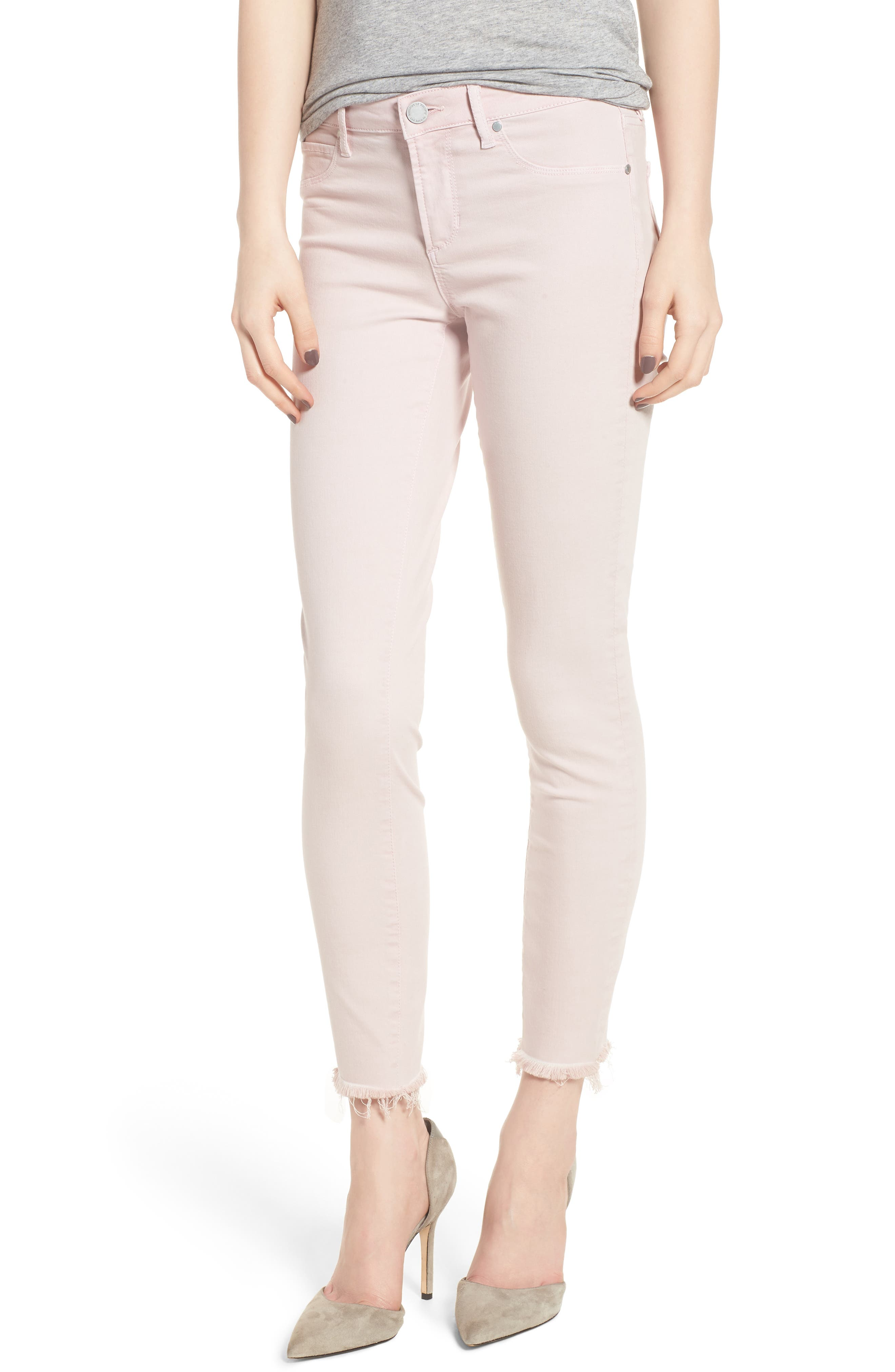 Carly Raw Hem Ankle Skinny Jeans,                             Main thumbnail 1, color,                             650