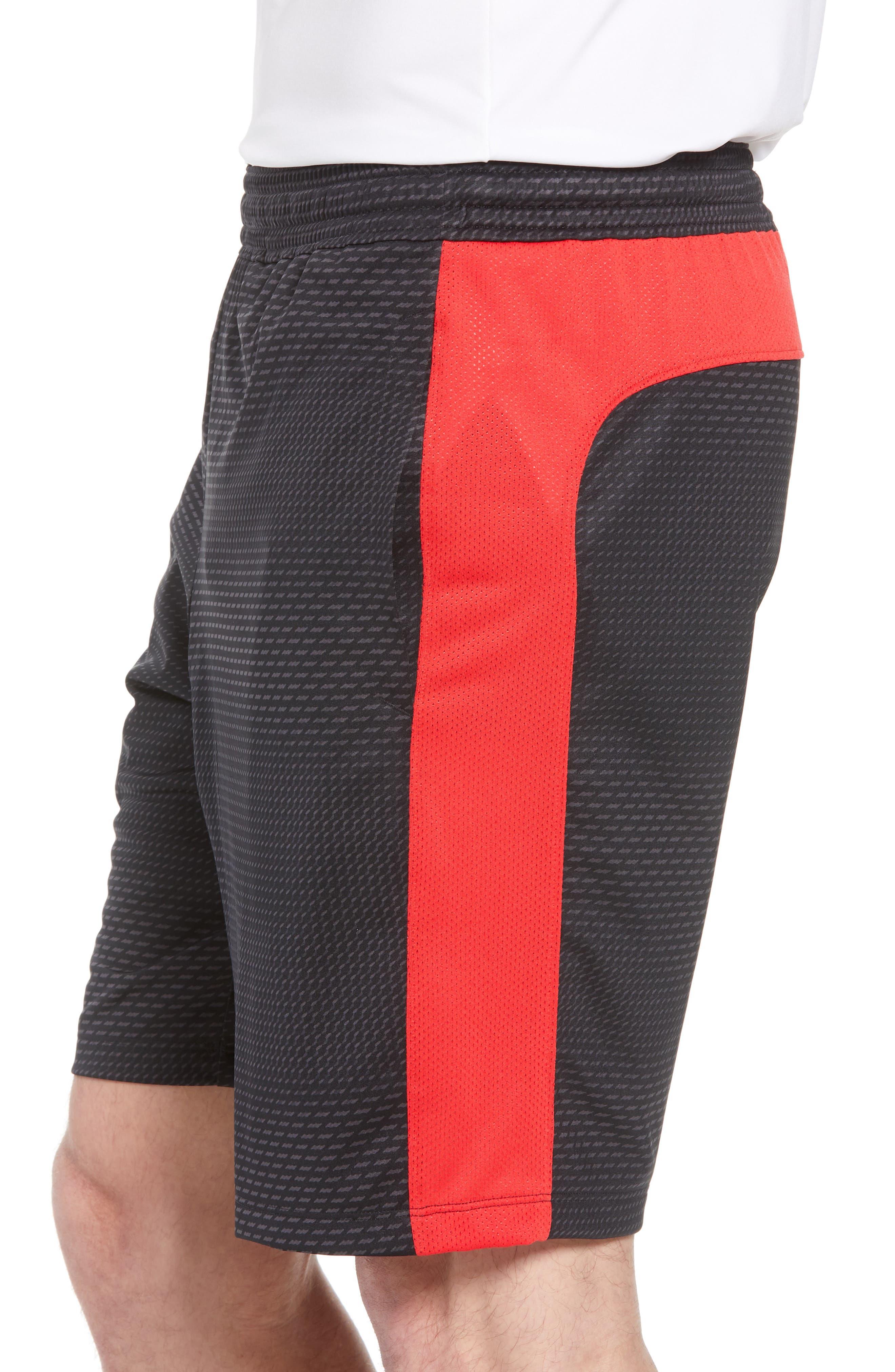 UNDER ARMOUR,                             Raid 2.0 Classic Fit Shorts,                             Alternate thumbnail 3, color,                             001
