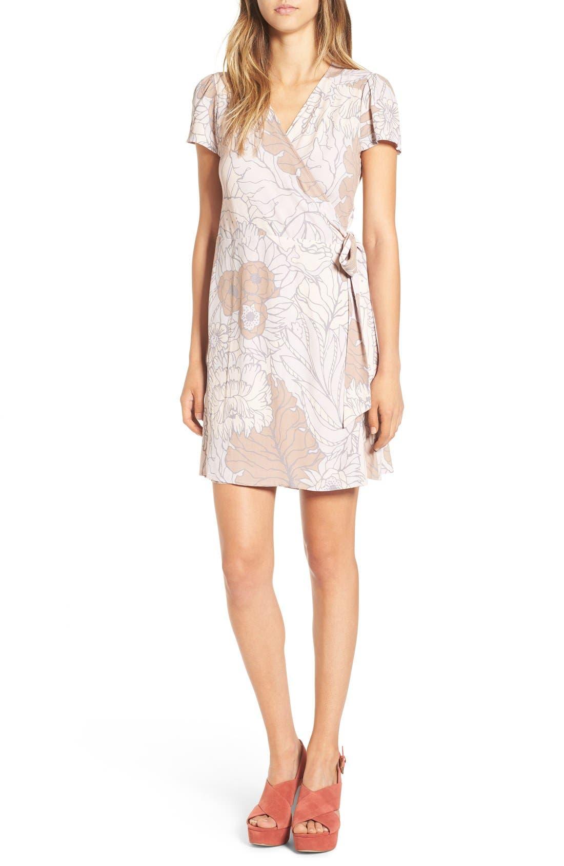 Wrap Dress, Main, color, 050