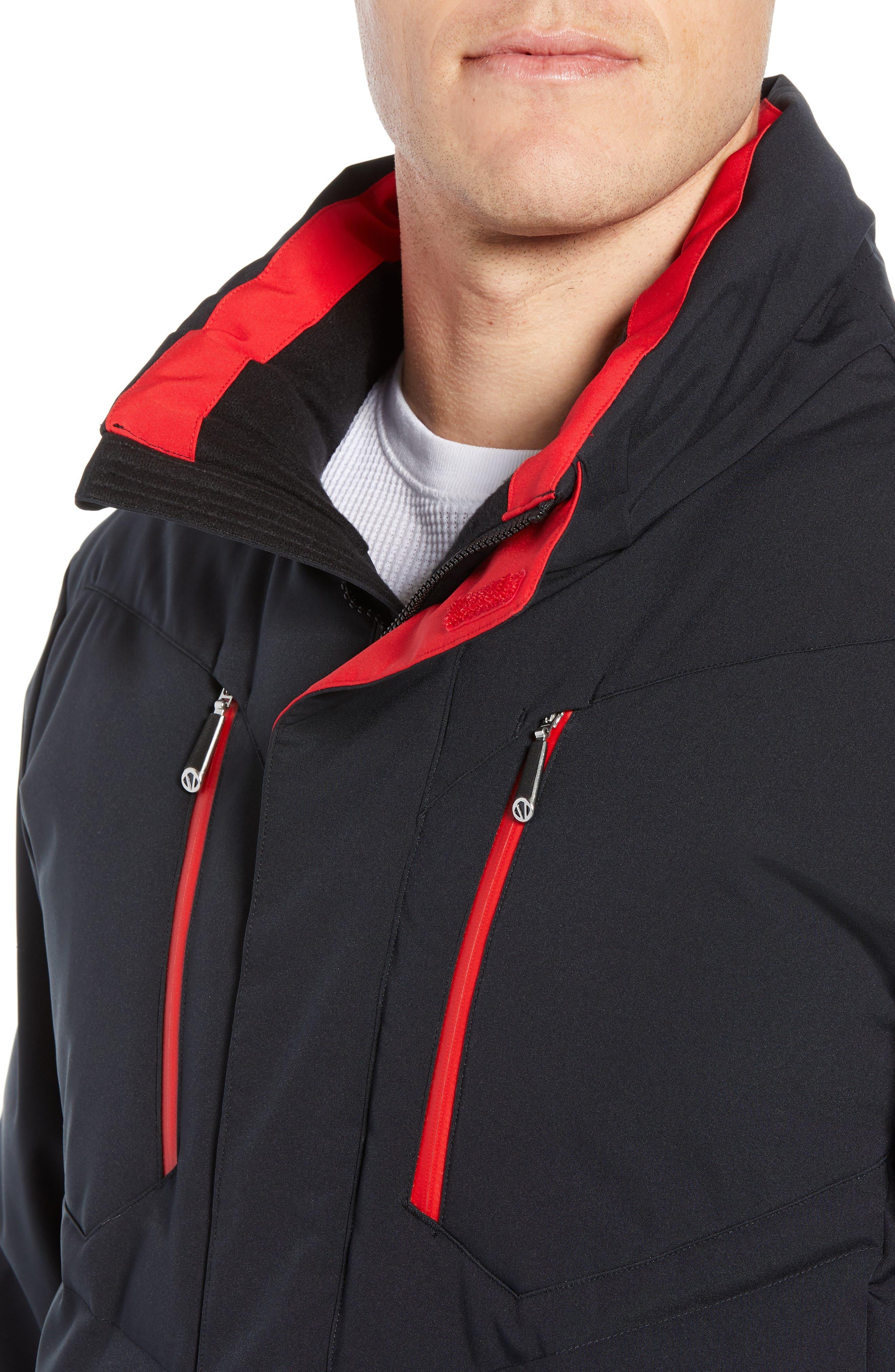 Boulder Waterproof Jacket,                             Alternate thumbnail 4, color,                             001