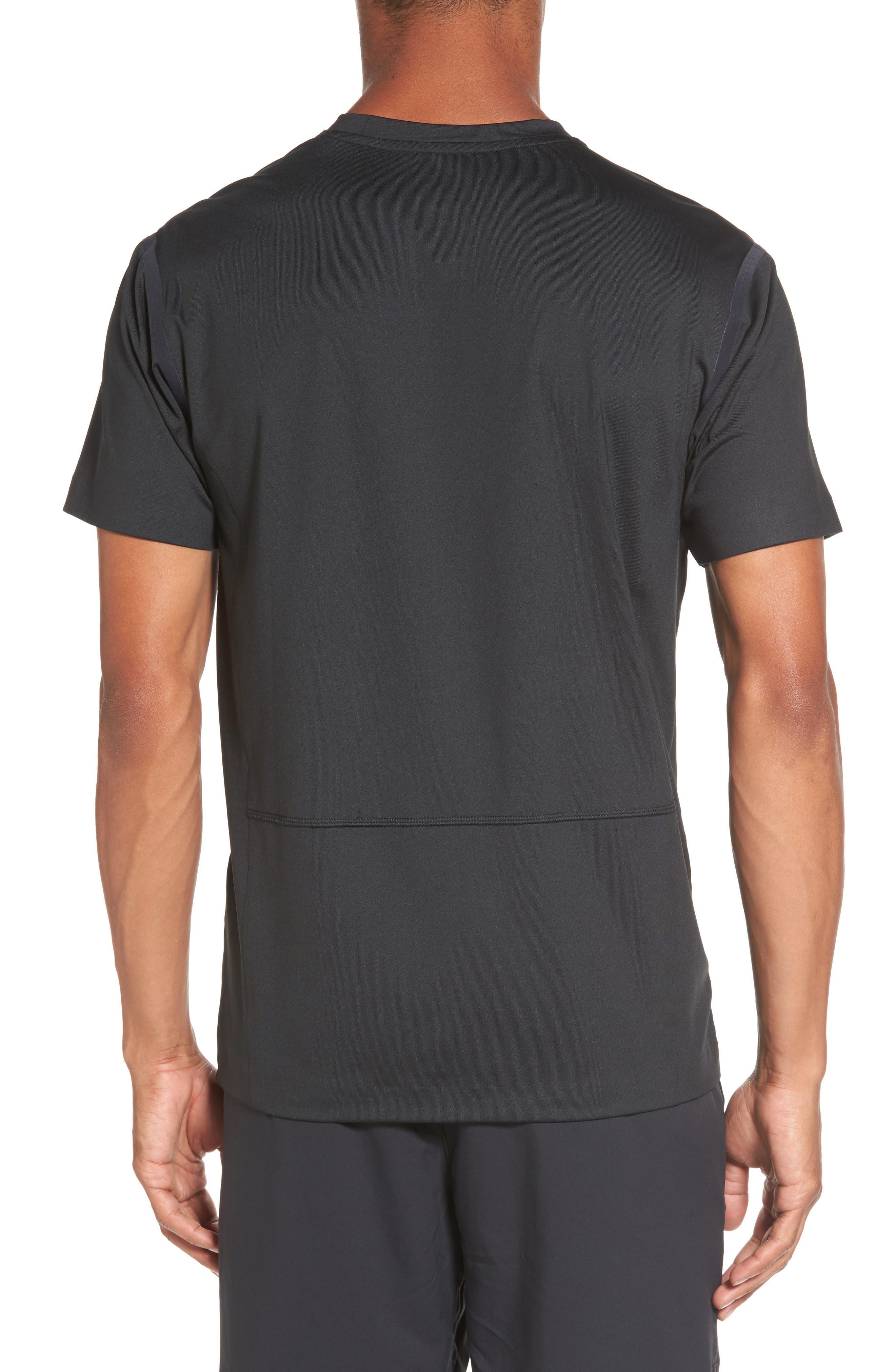 VA Compression T-Shirt,                             Alternate thumbnail 2, color,                             001