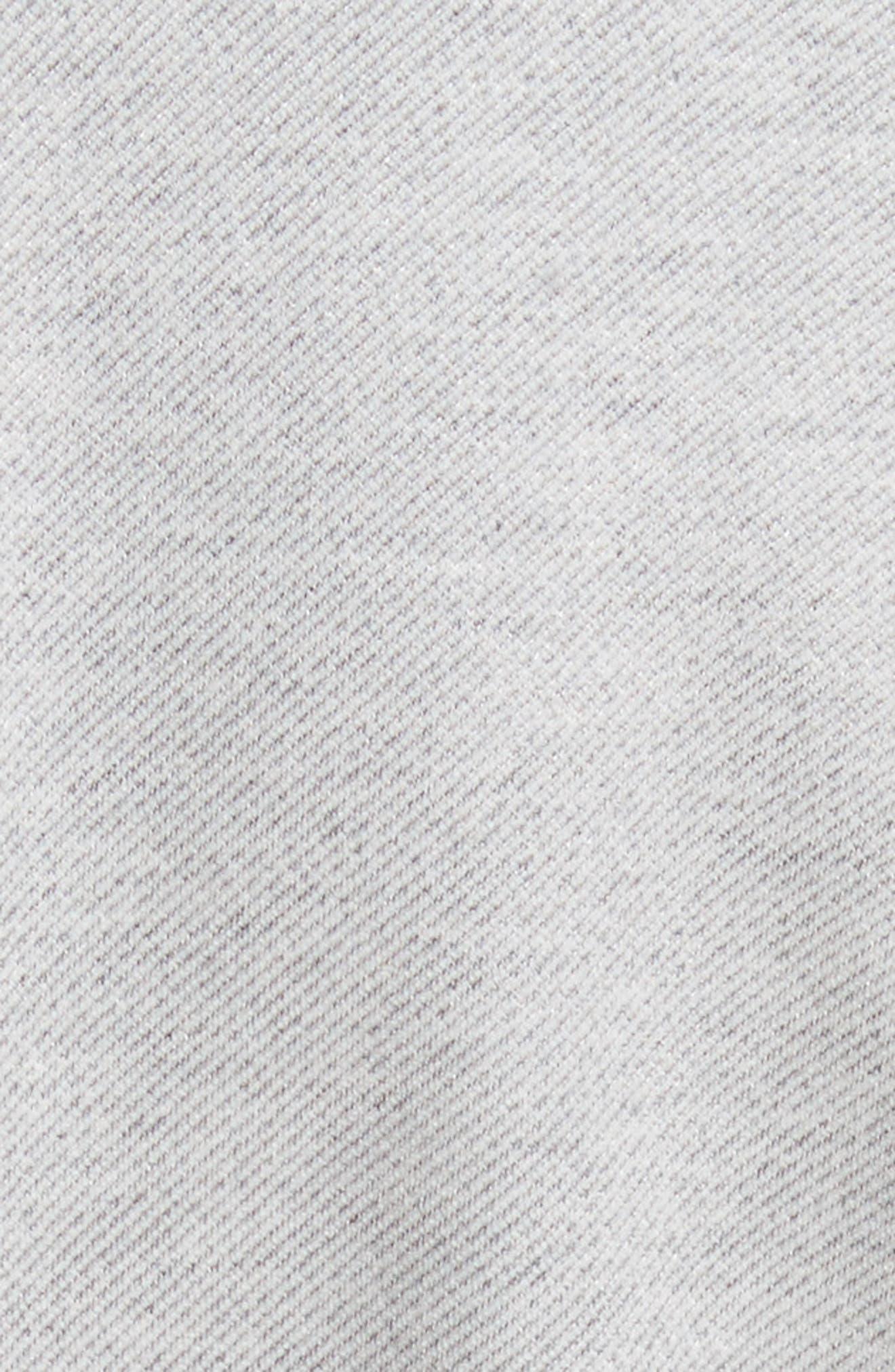 Dolman Sleeve Stretch Twill Midi Dress,                             Alternate thumbnail 6, color,                             020