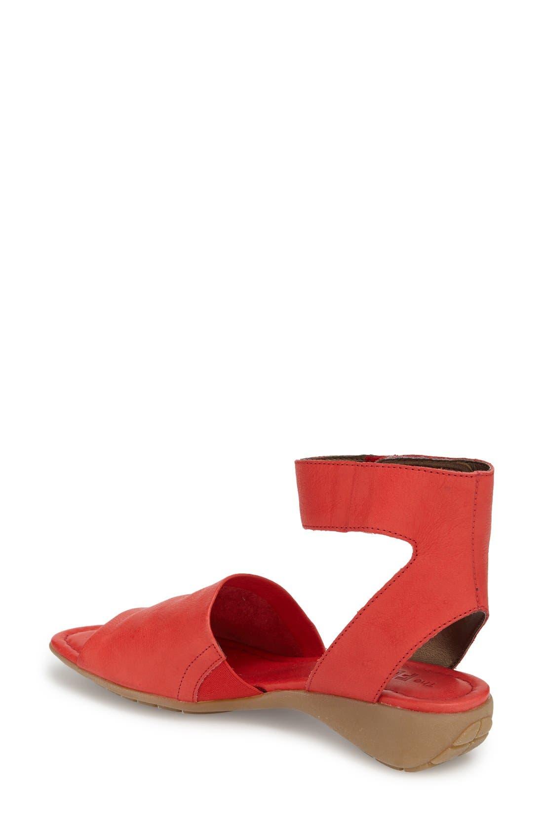'Beglad' Leather Ankle Strap Sandal,                             Alternate thumbnail 32, color,