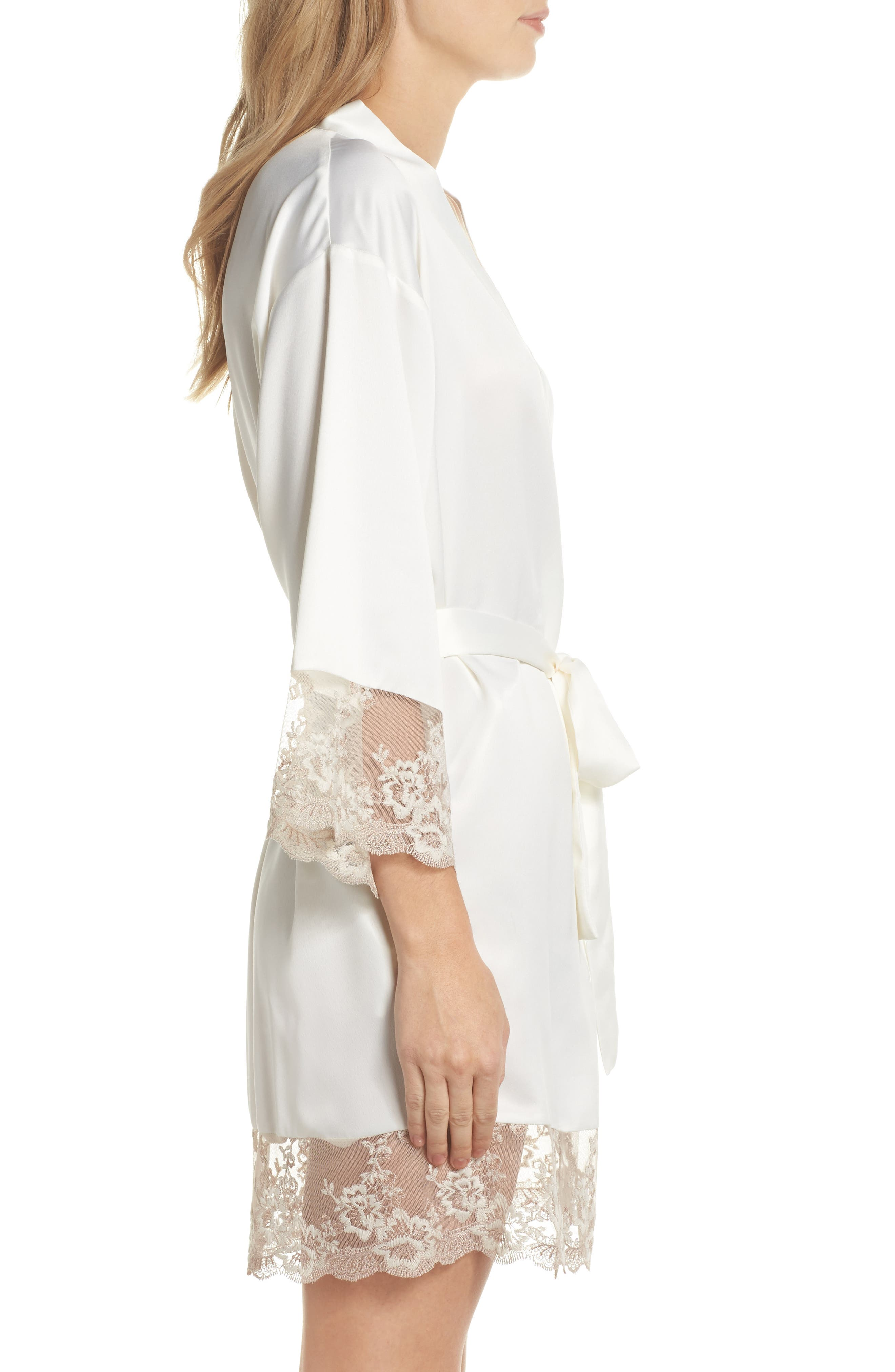 Rosa Kimono Robe,                             Alternate thumbnail 3, color,