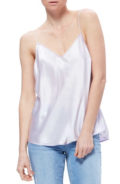 Paige Tops CICELY V-NECK SILK CAMISOLE
