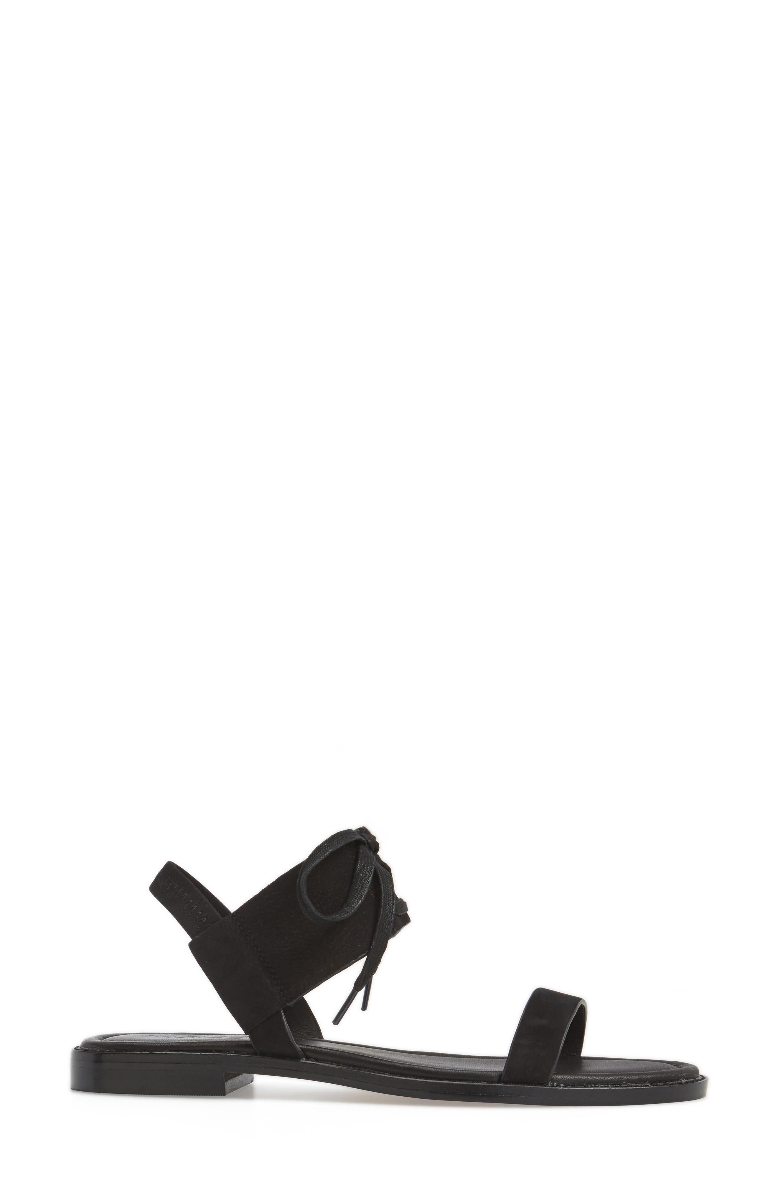 M4D3 Hailey Slingback Sandal,                             Alternate thumbnail 3, color,                             001
