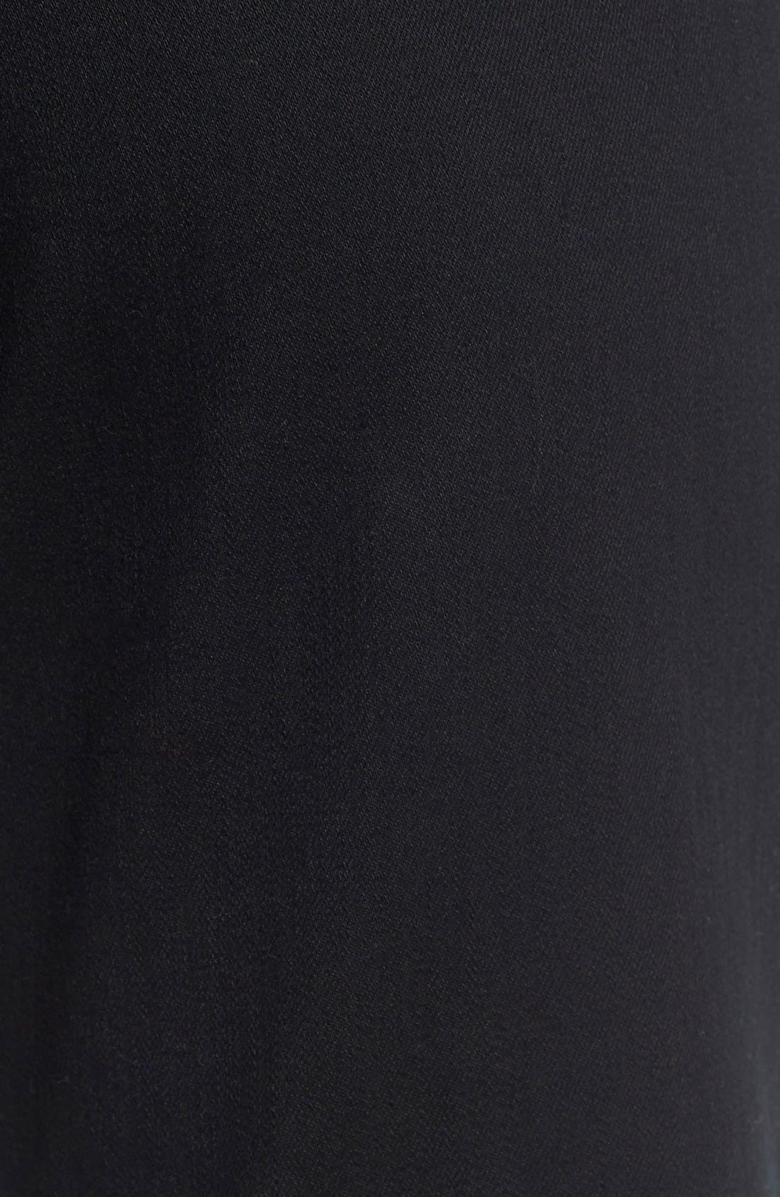 'Dayla' Colored Wide Cuff Capri Jeans,                             Alternate thumbnail 3, color,                             001