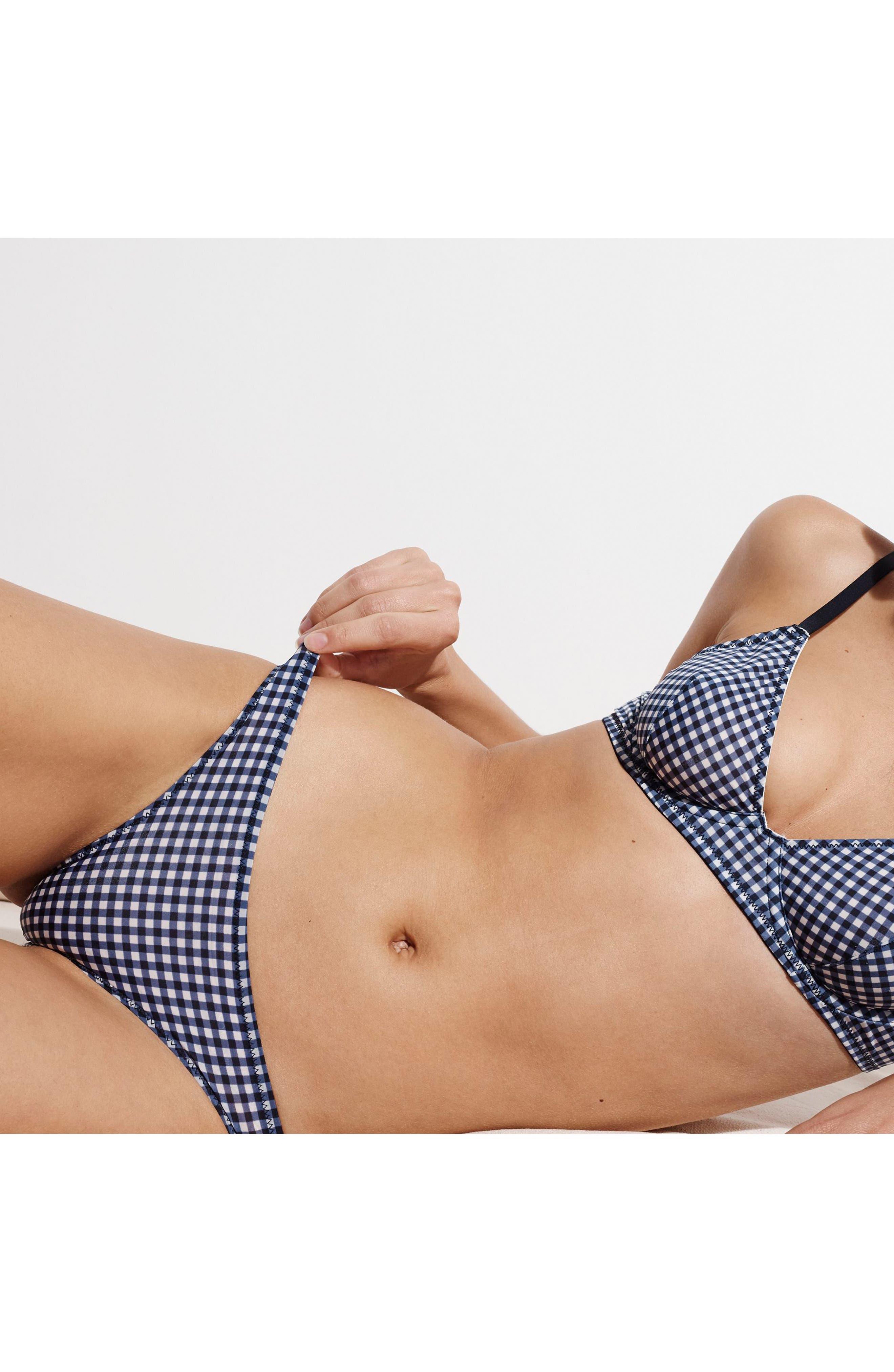 Gingham Bikini,                             Alternate thumbnail 4, color,                             400