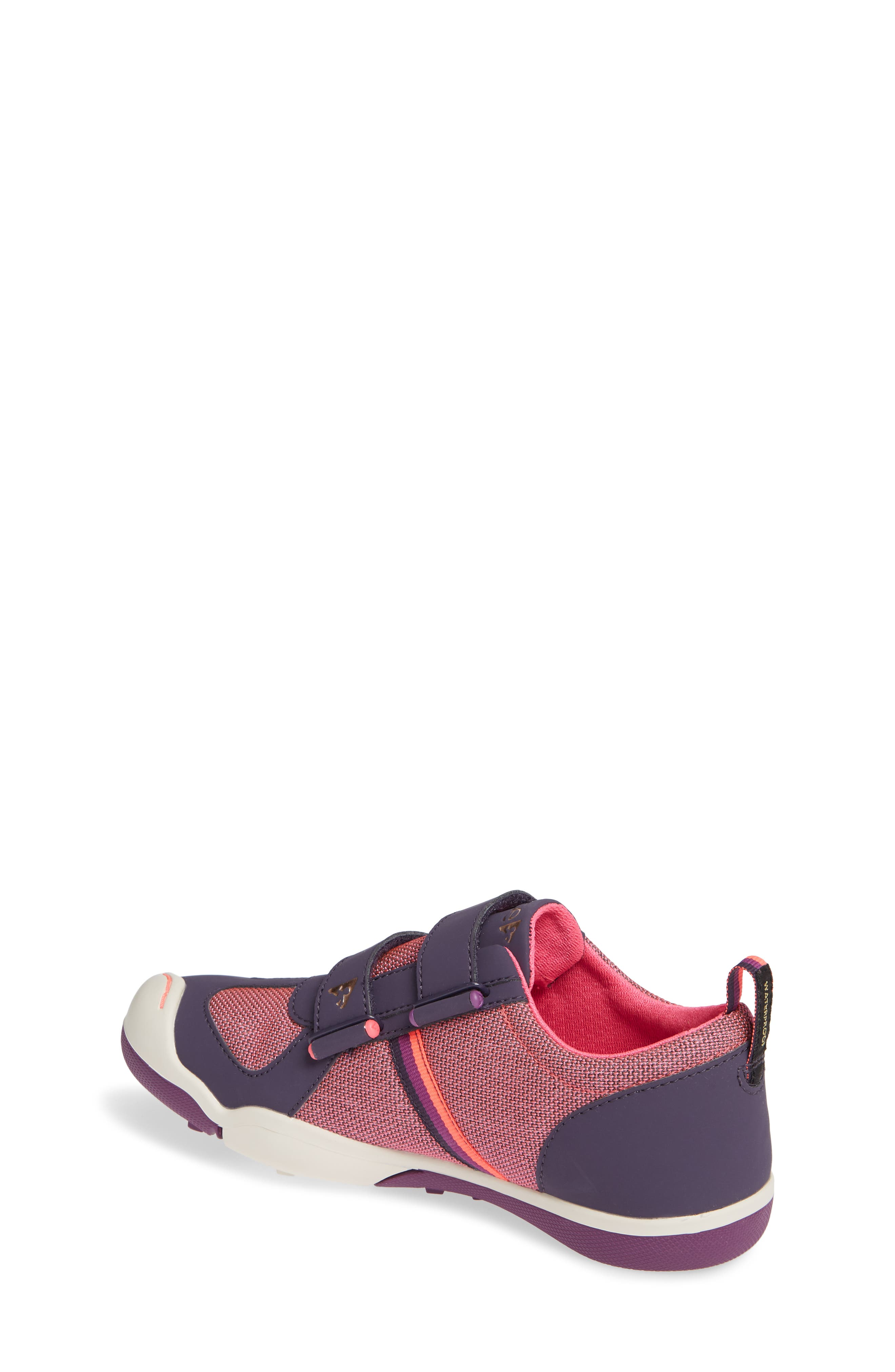 Charlie Customizable Waterproof Sneaker,                             Alternate thumbnail 2, color,                             MYSTIC BERRY