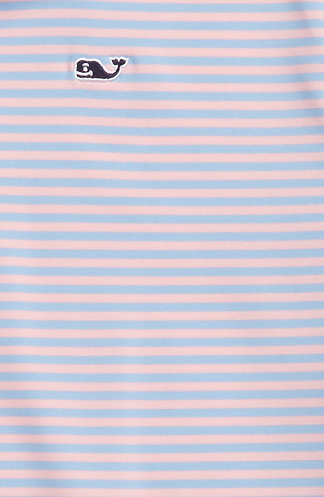 Color & Color Feeder Stripe Performance Polo,                             Alternate thumbnail 8, color,