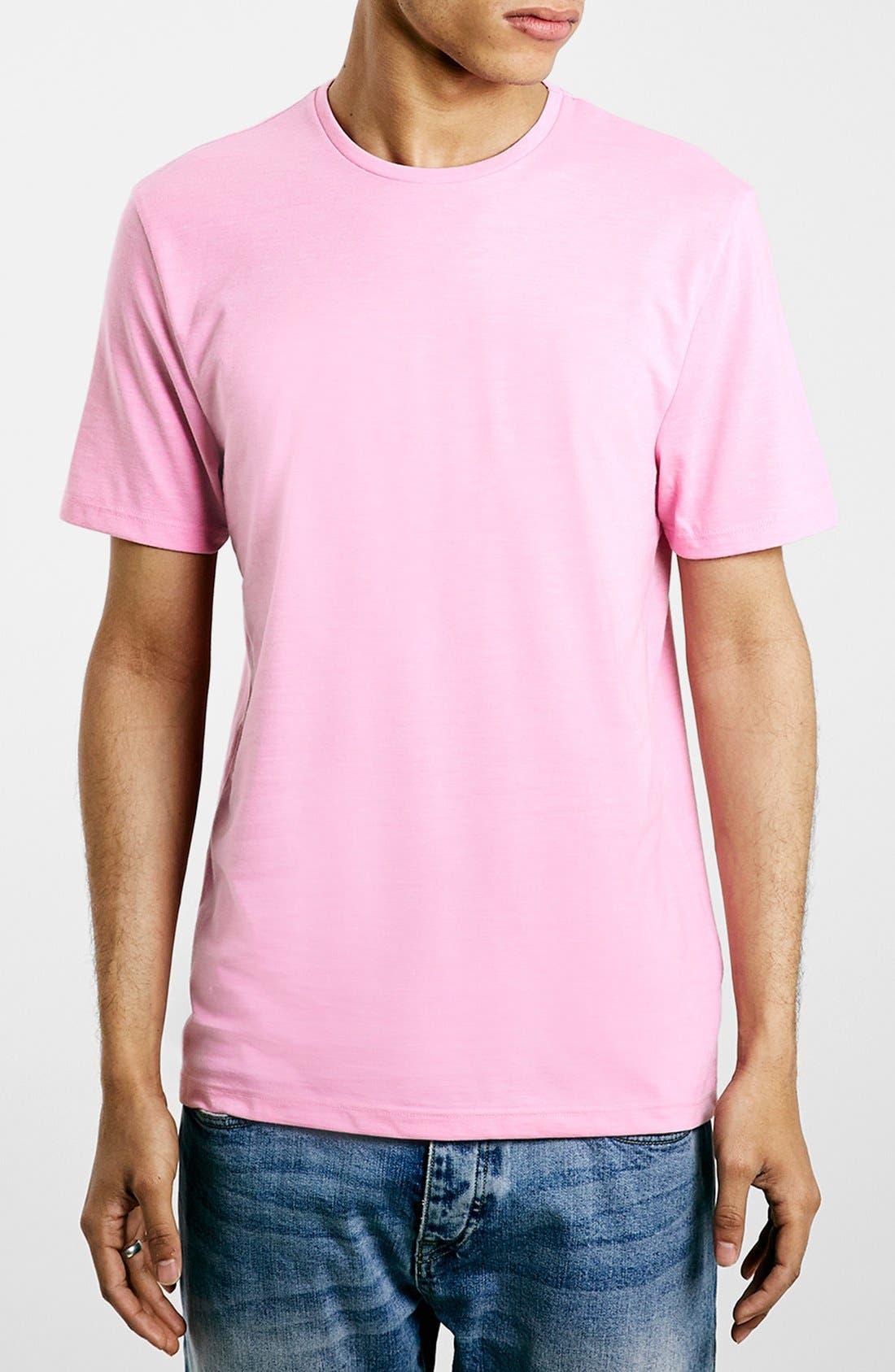 Slim Fit Crewneck T-Shirt,                             Main thumbnail 85, color,