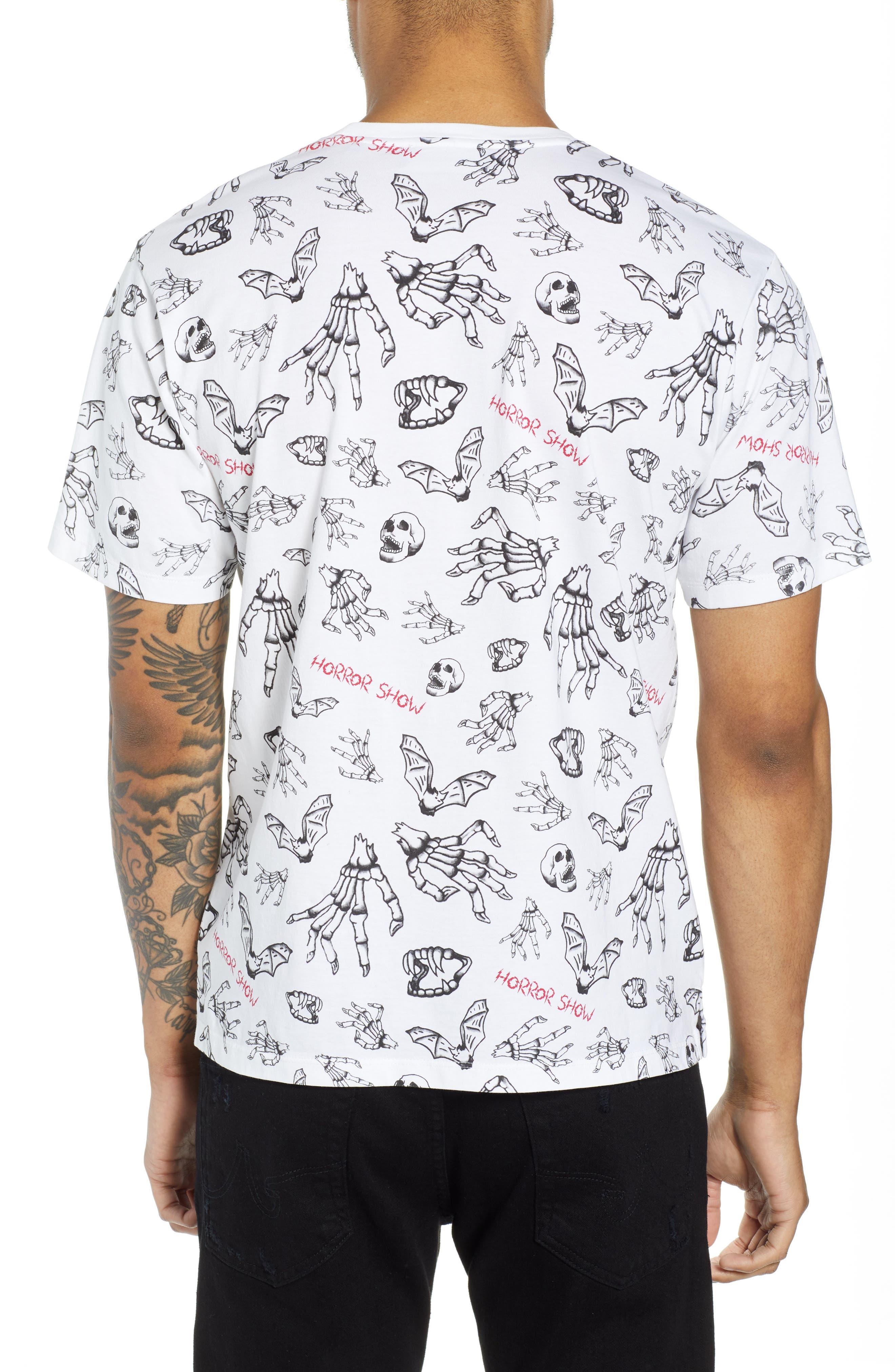 Horror Show Graphic T-Shirt,                             Alternate thumbnail 2, color,                             100