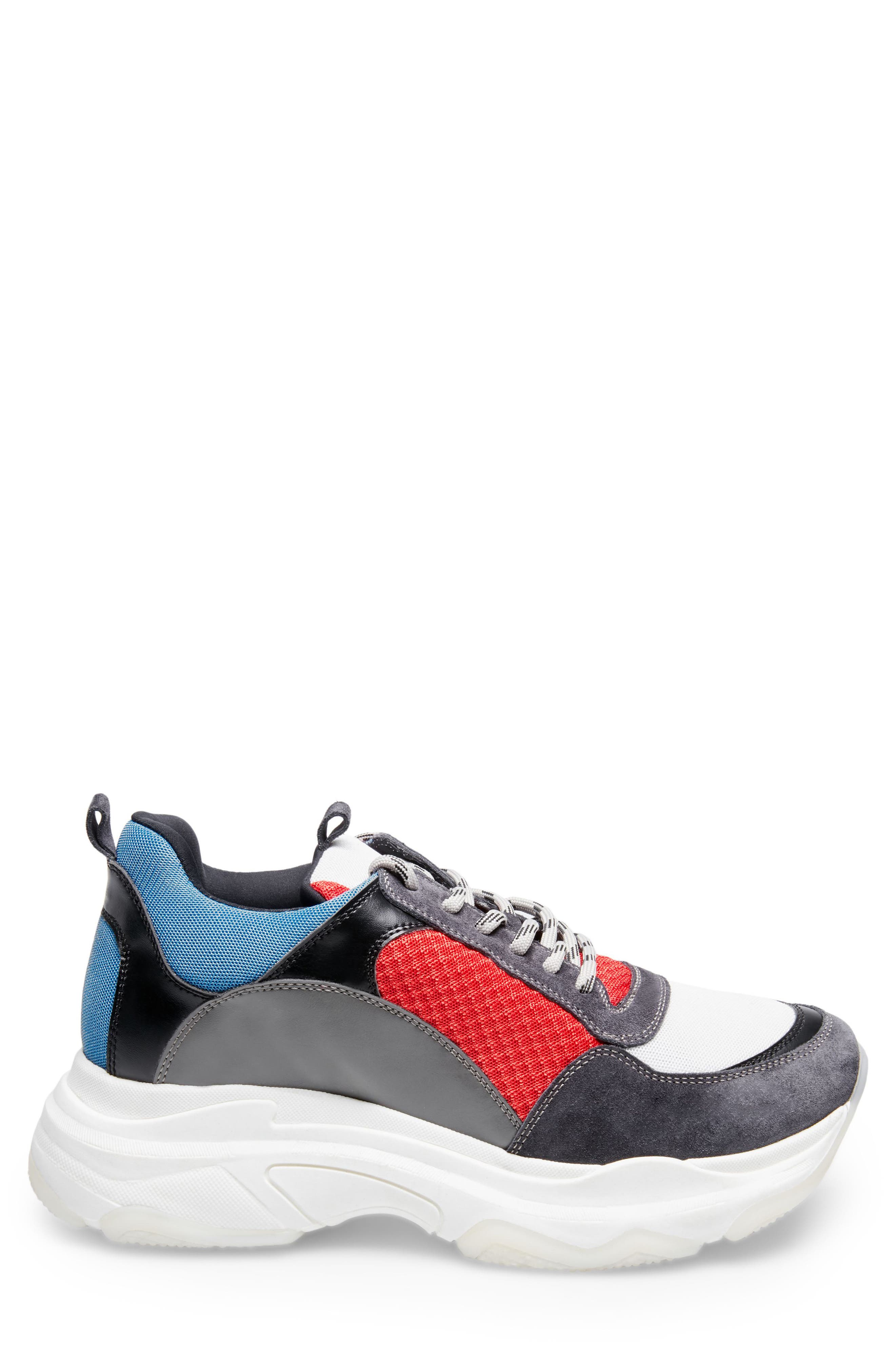 Russell Platform Sneaker,                             Alternate thumbnail 2, color,                             MULTI LEATHER