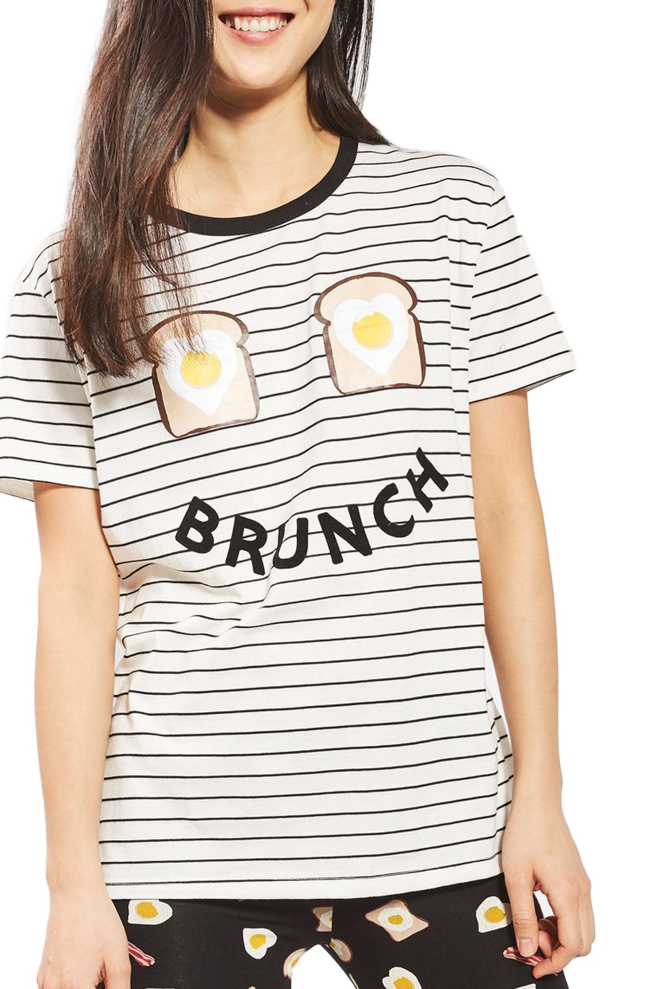 Brunch Pajamas,                             Alternate thumbnail 3, color,                             900